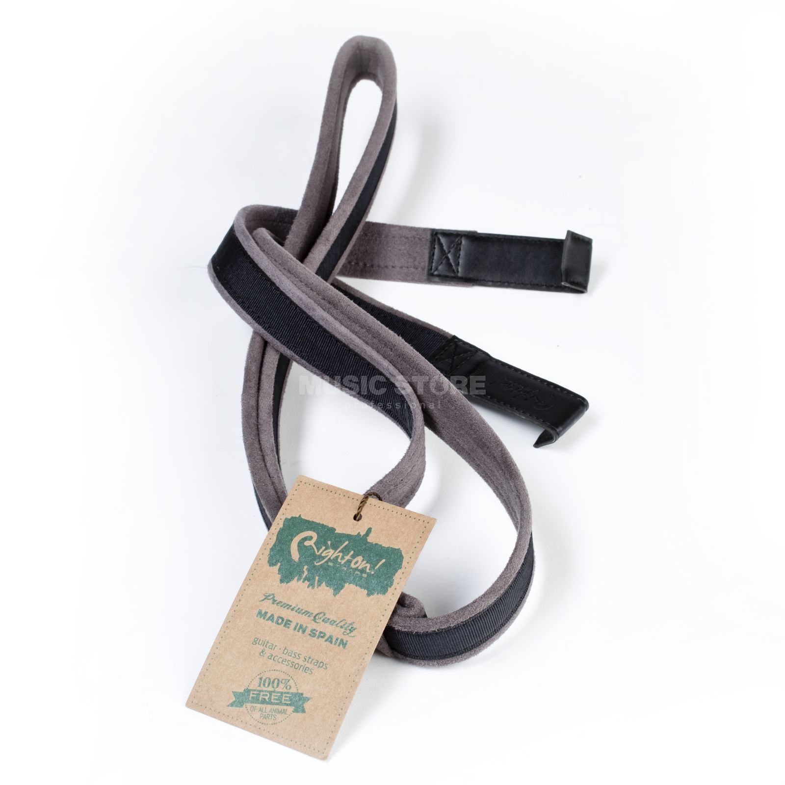 RightOn! Straps Nylon Double Hook Black Produktbillede