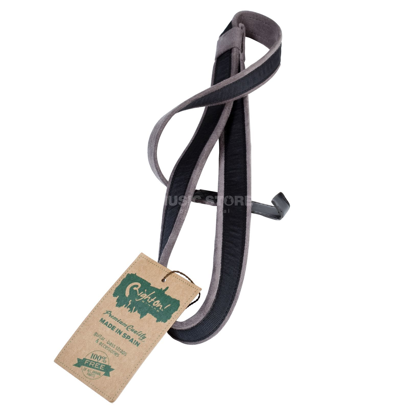 RightOn! Straps Nylon Hook Black Produktbild