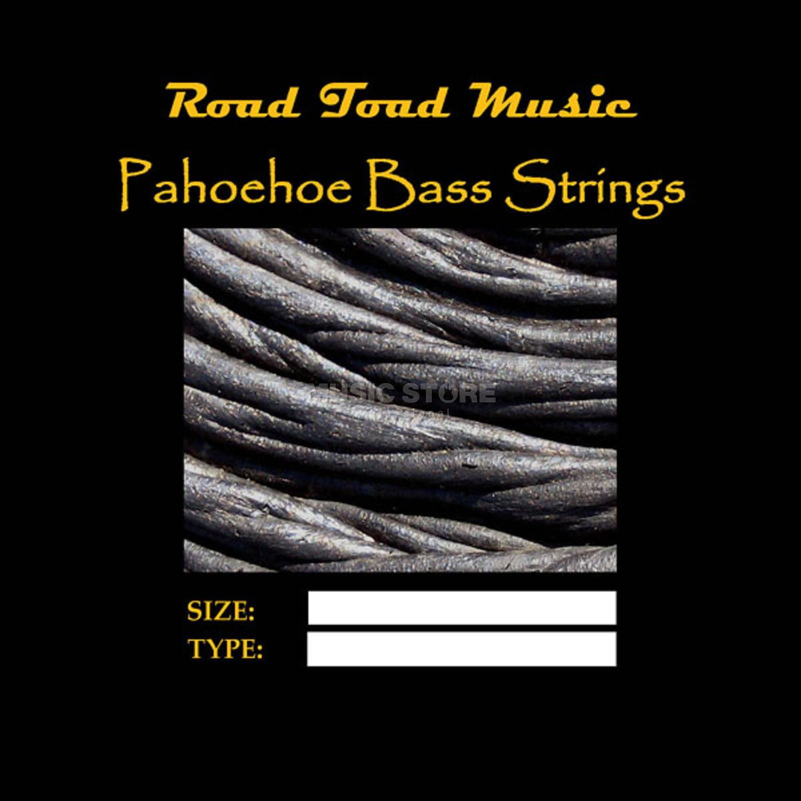 Road Toad Music U-Bass Pahoehoe Black 4-String Produktbild