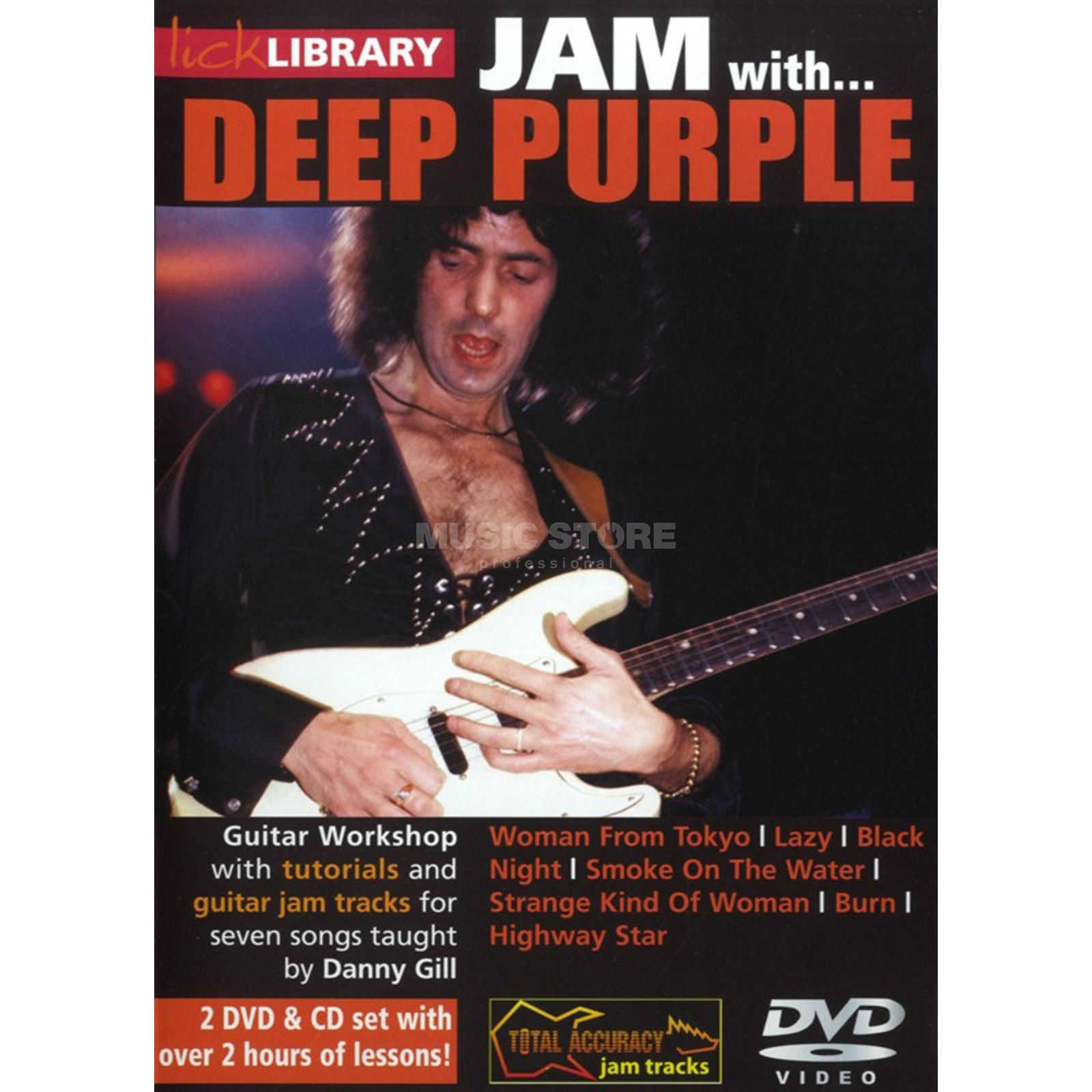 Roadrock International Lick Library: Jam With Deep Purple DVD, CD Produktbild