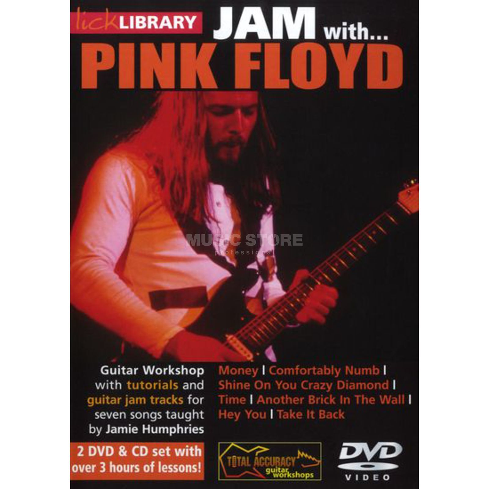 Roadrock International Lick Library: Jam With Pink Floyd DVD, CD Produktbild