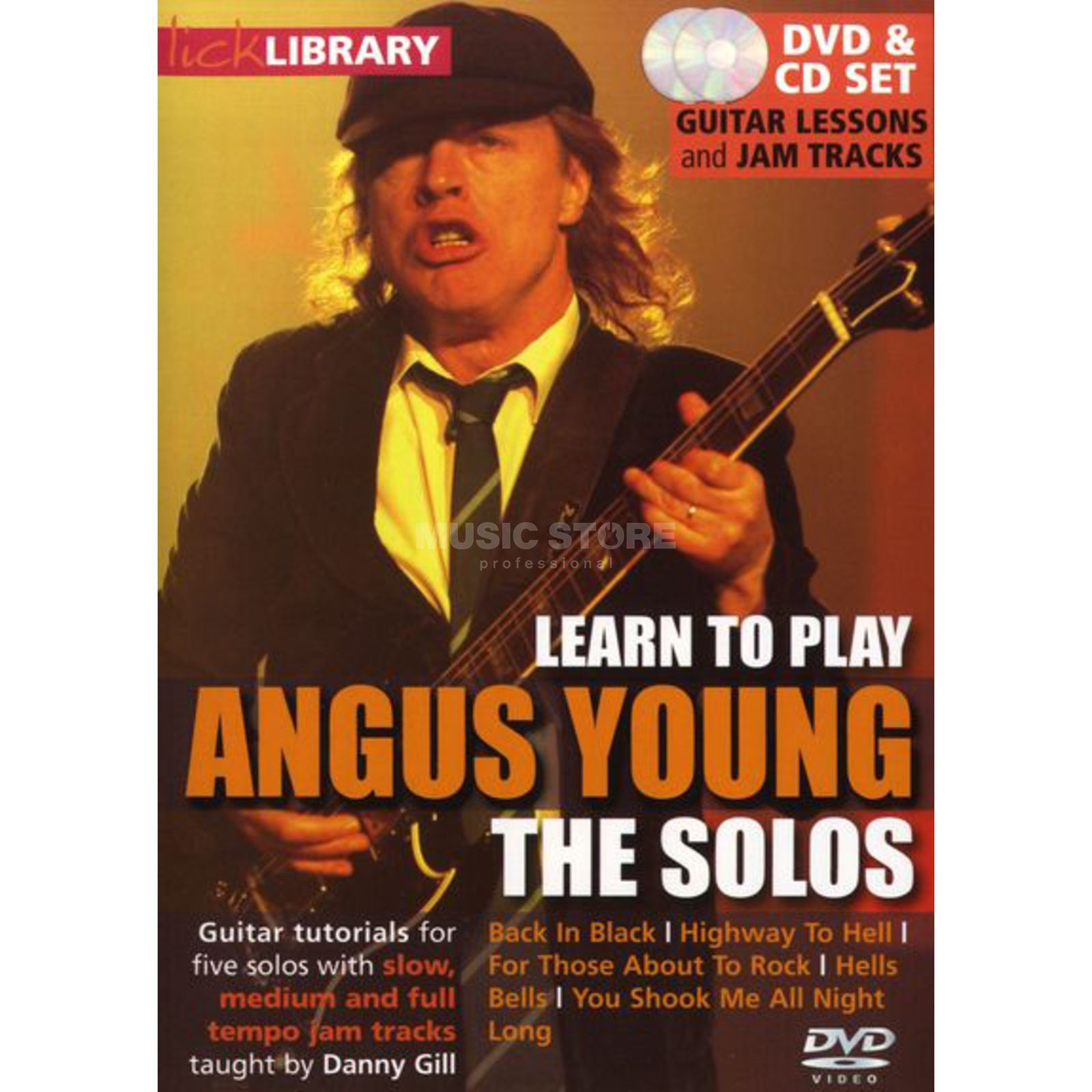Roadrock International Lick Library: Learn To Play Angus Young - The Solos DVD Produktbild