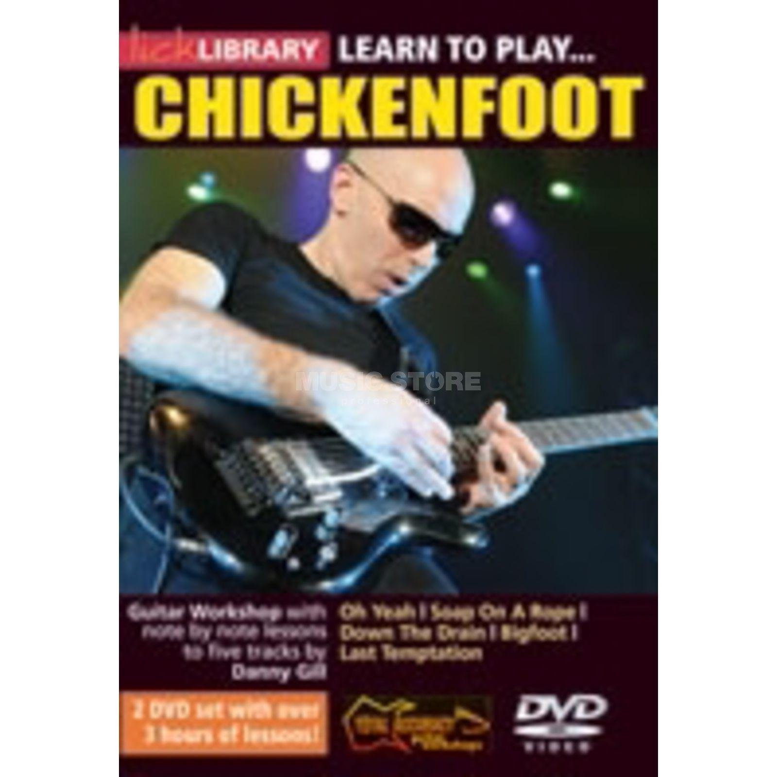 Roadrock International Lick Library: Learn To Play Chickenfoot DVD Produktbild
