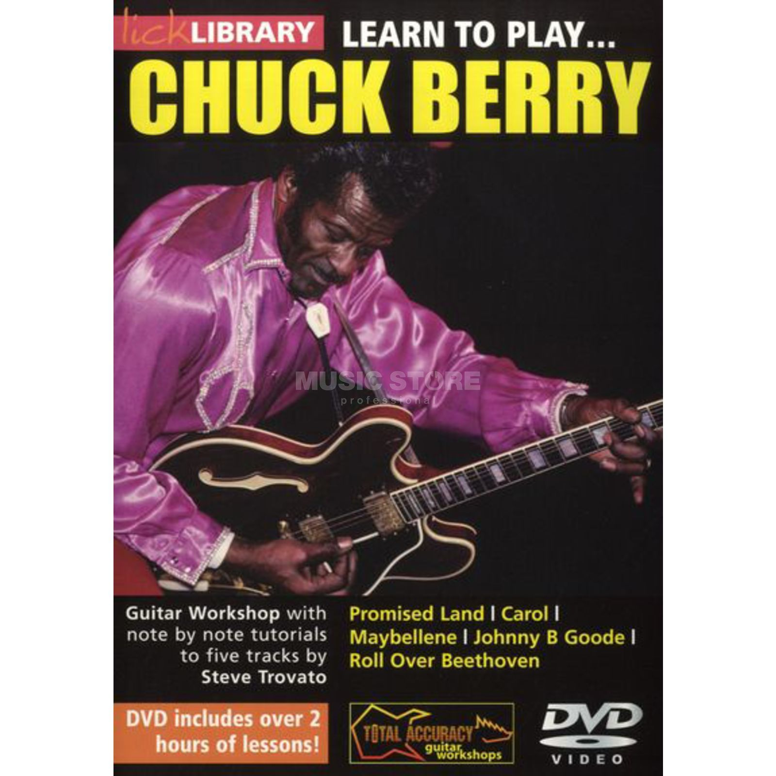 Roadrock International Lick Library: Learn To Play Chuck Berry DVD Produktbillede