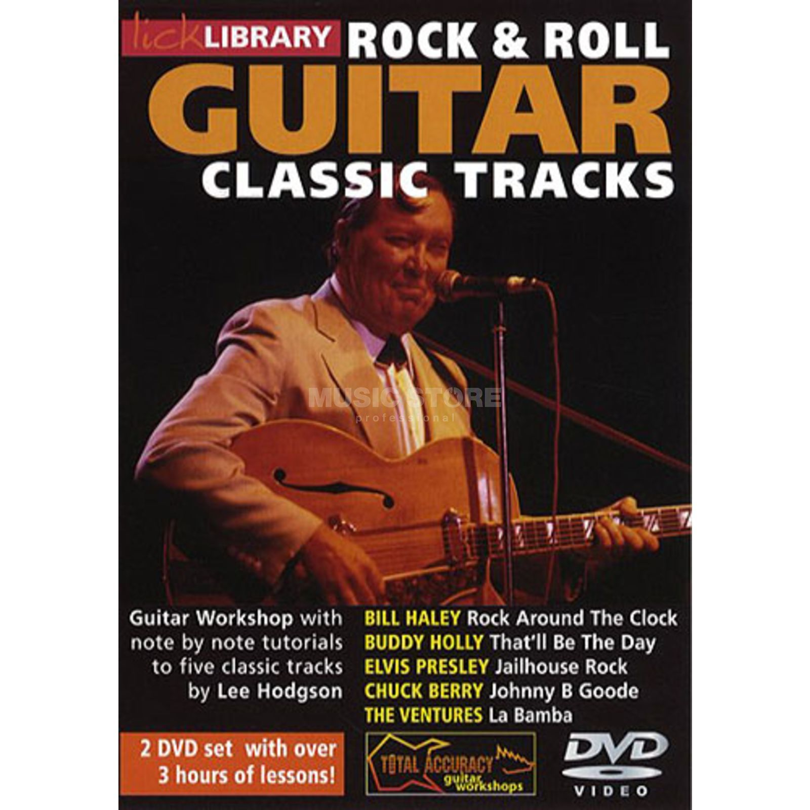 Roadrock International Lick Library: Learn To Play Classic Rock And Roll Tracks DVD Produktbillede