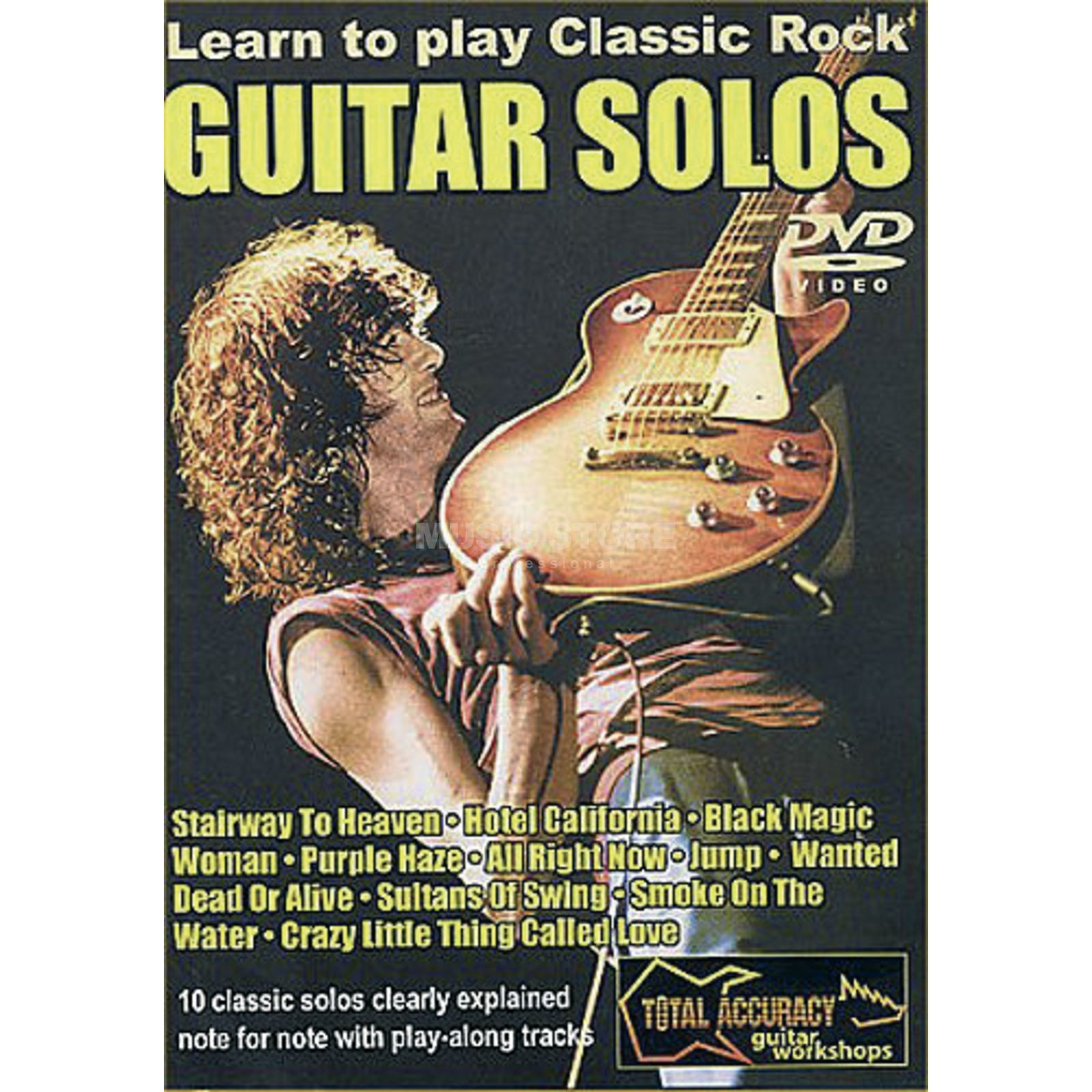 Roadrock International Lick Library: Learn To Play Classic Rock Guitar Solos 1 DVD Produktbillede