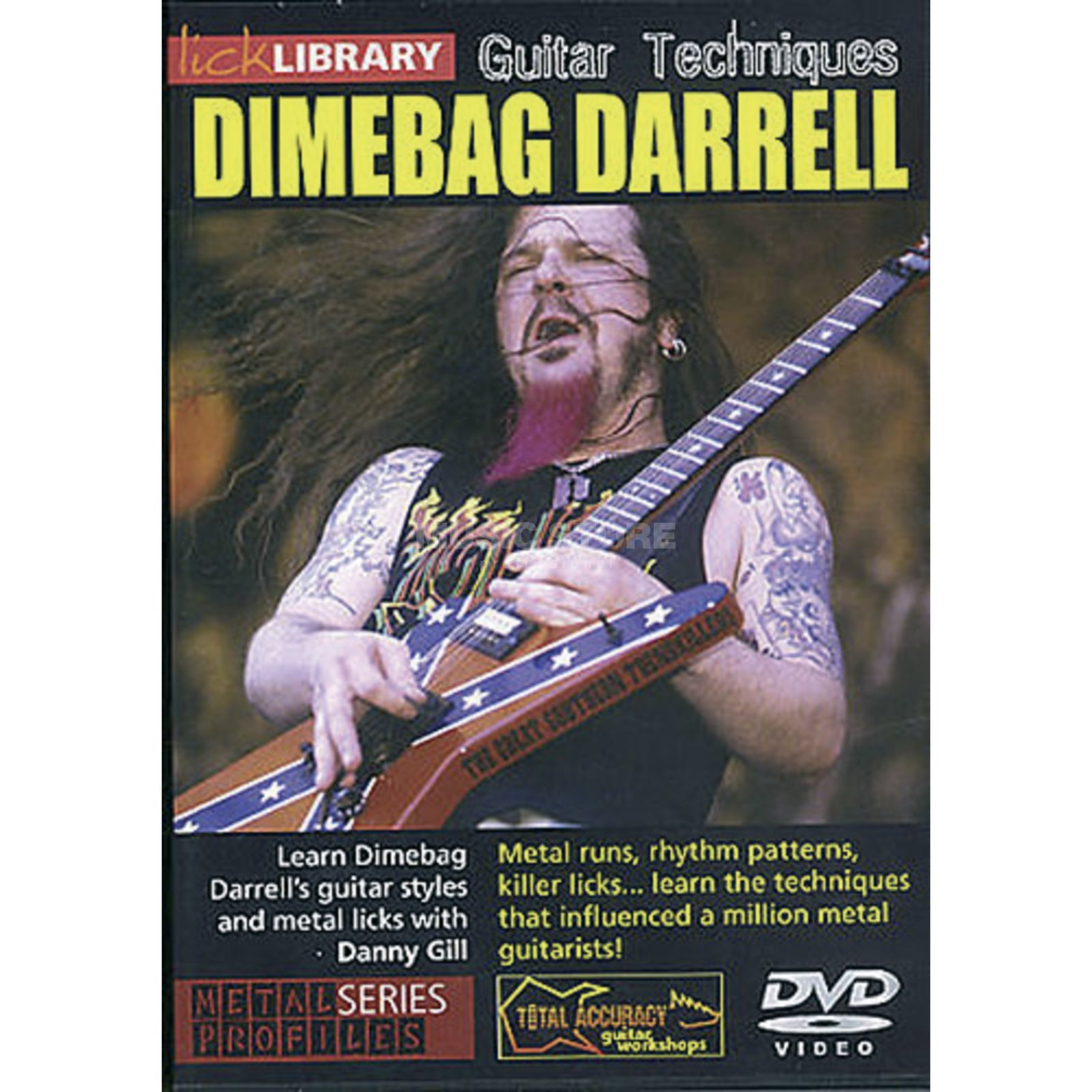Roadrock International Lick Library: Learn To Play Dimebag Darrell DVD Produktbillede