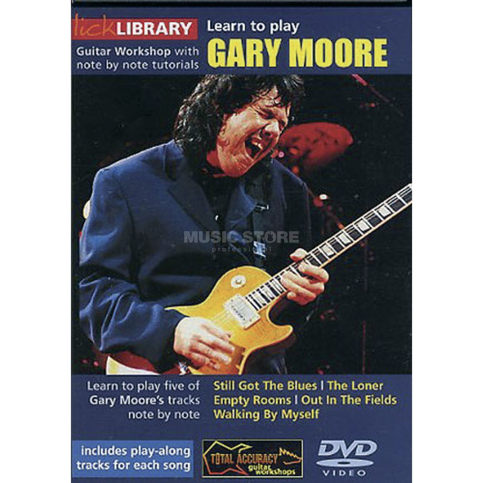 Roadrock International Lick Library: Learn To Play Gary Moore DVD Produktbillede