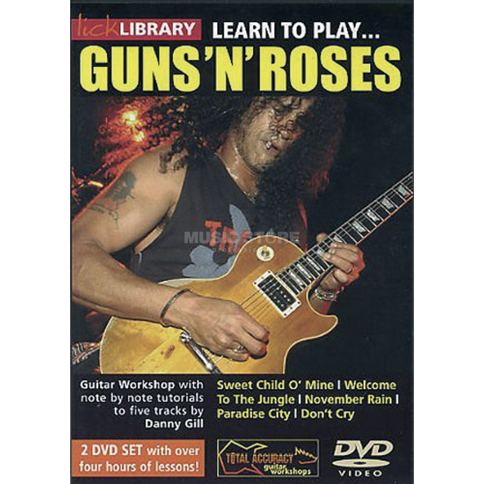 Roadrock International  Lick Library: Learn To Play Guns 'N' Roses Produktbild
