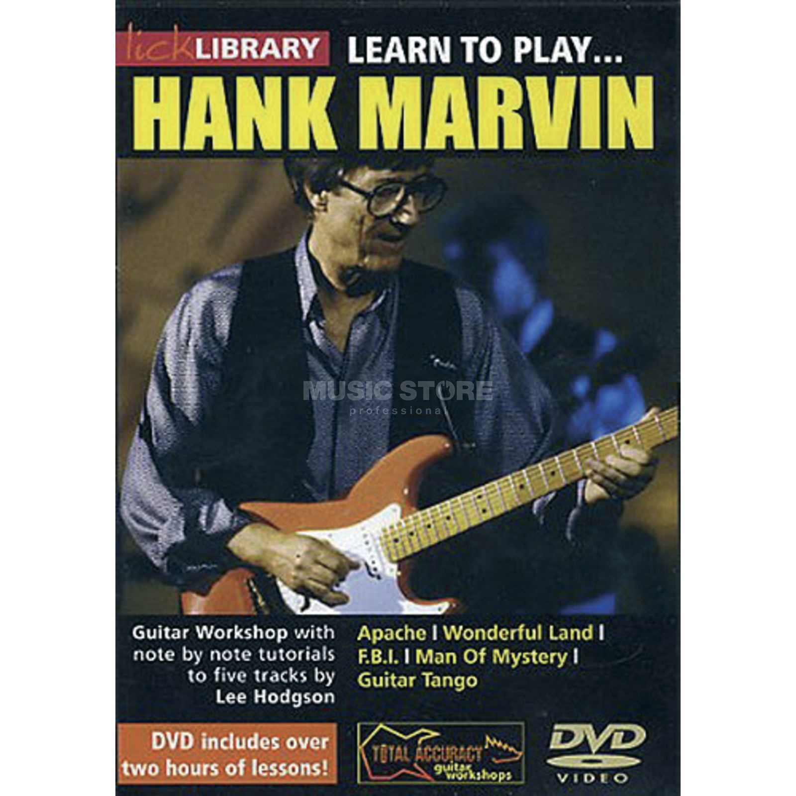 Roadrock International Lick Library: Learn To Play Hank Marvin DVD Produktbillede