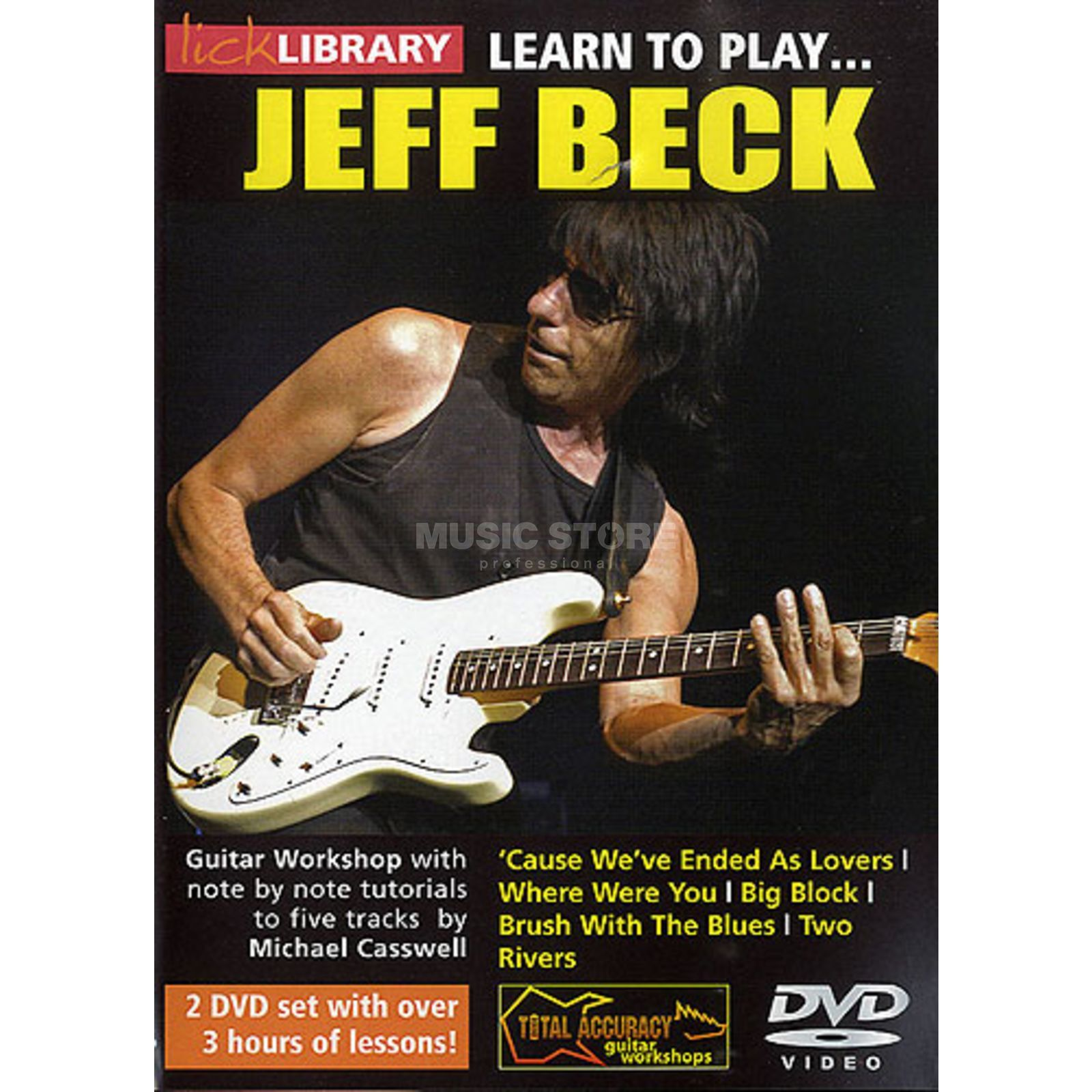 Roadrock International Lick Library: Learn to Play Jeff Beck DVD Produktbillede