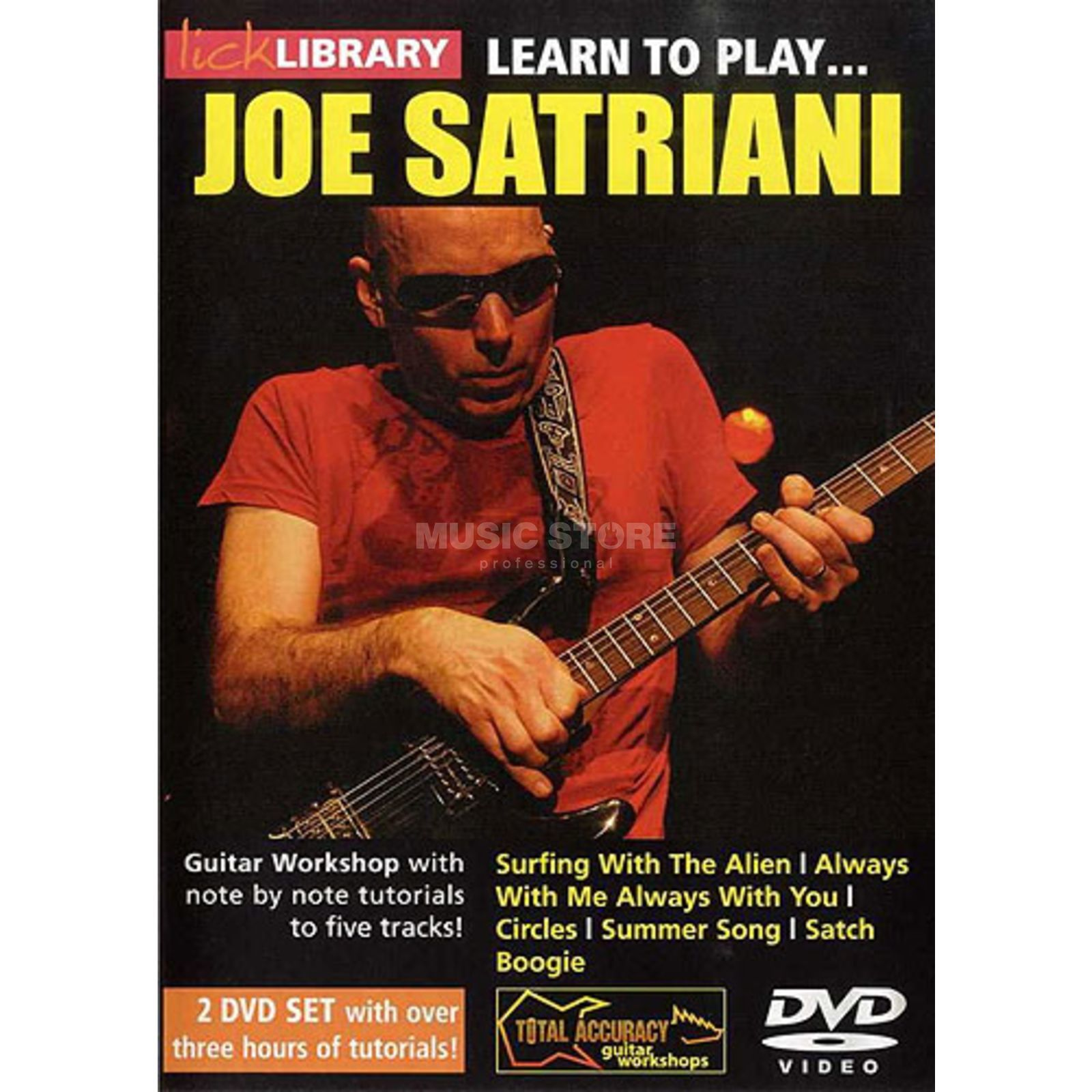 Roadrock International  Lick Library: Learn To Play Joe Satriani DVD Produktbillede