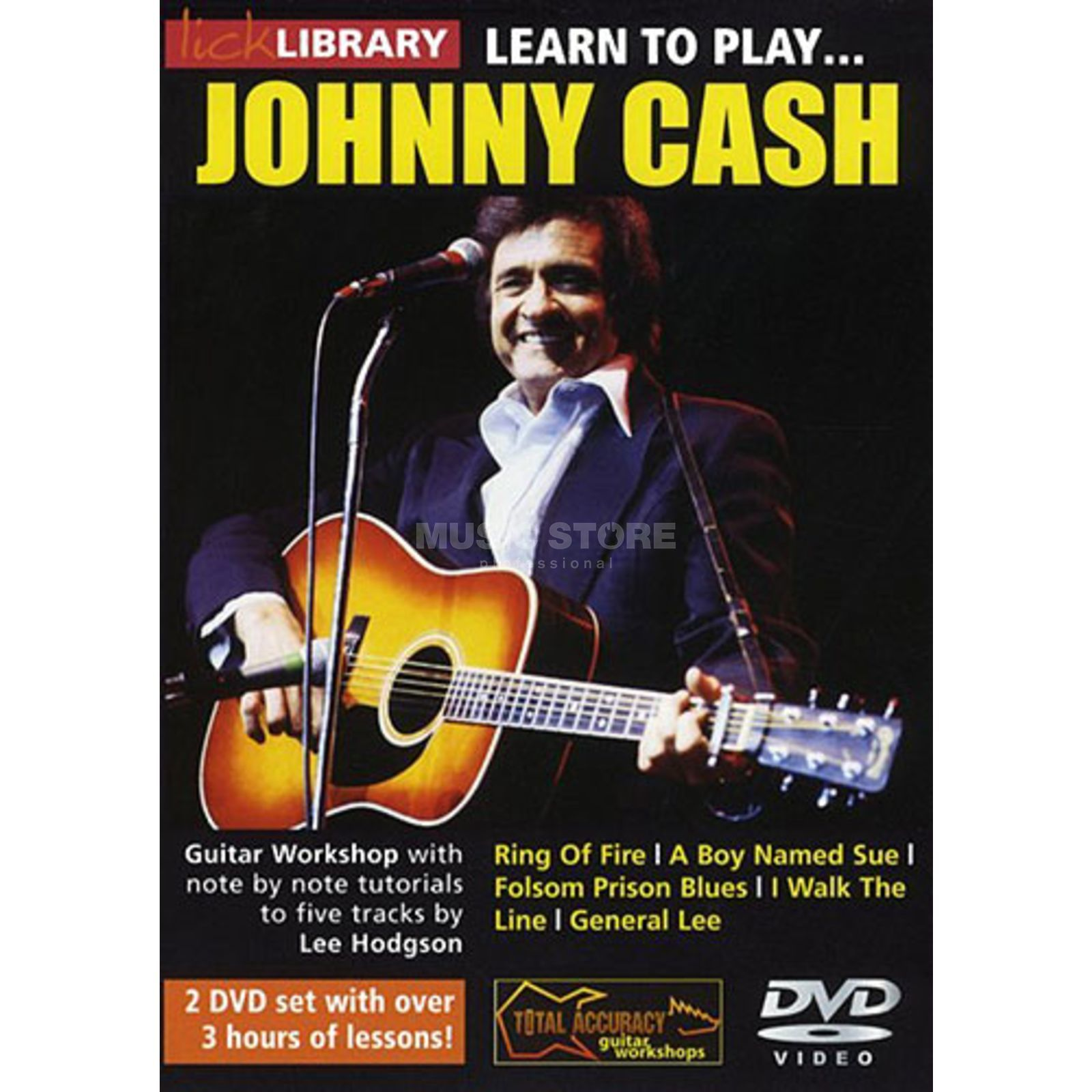 Roadrock International Lick Library: Learn To Play Johnny Cash DVD Produktbild