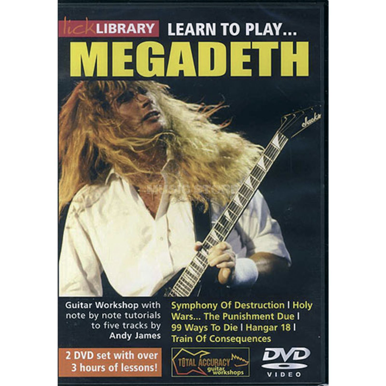 Roadrock International Lick Library: Learn To Play Megadeth DVD Produktbillede