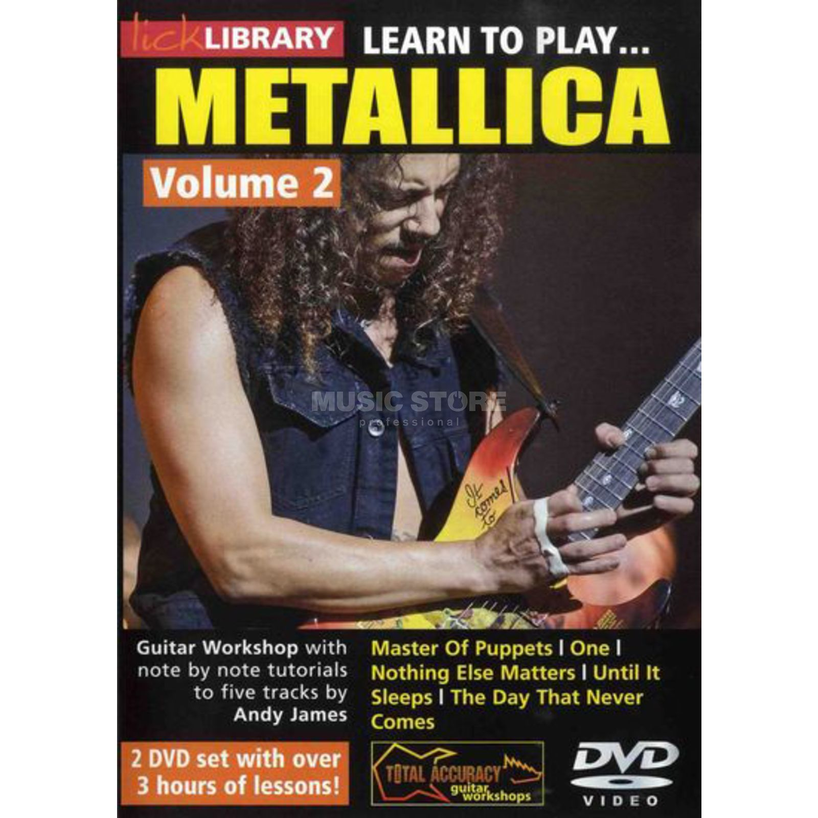Roadrock International Lick Library: Learn To Play Metallica 2 DVD Produktbillede