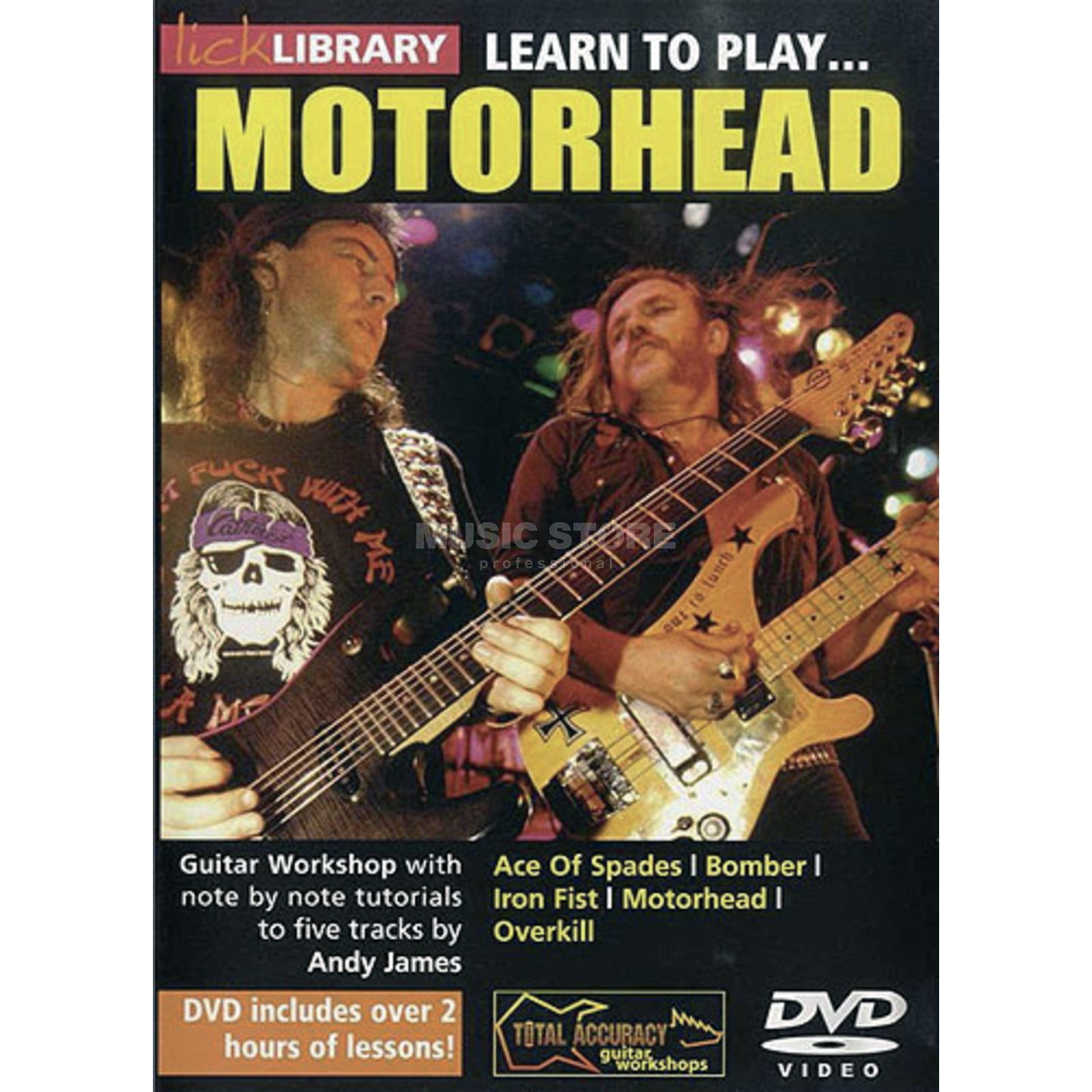 Roadrock International Lick Library: Learn To Play Motorhead DVD Produktbillede