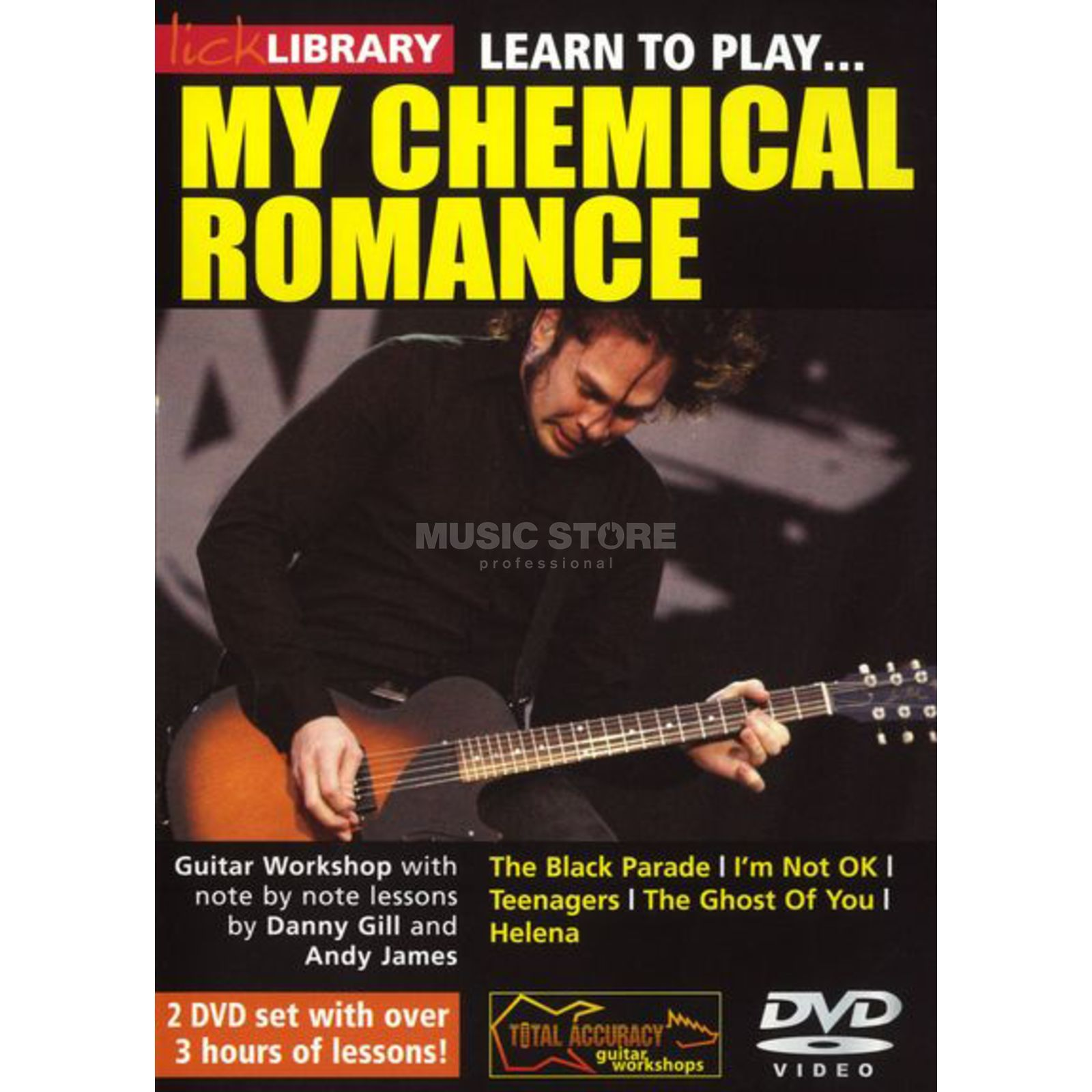 Roadrock International Lick Library: Learn To Play My Chemical Romance DVD Produktbild