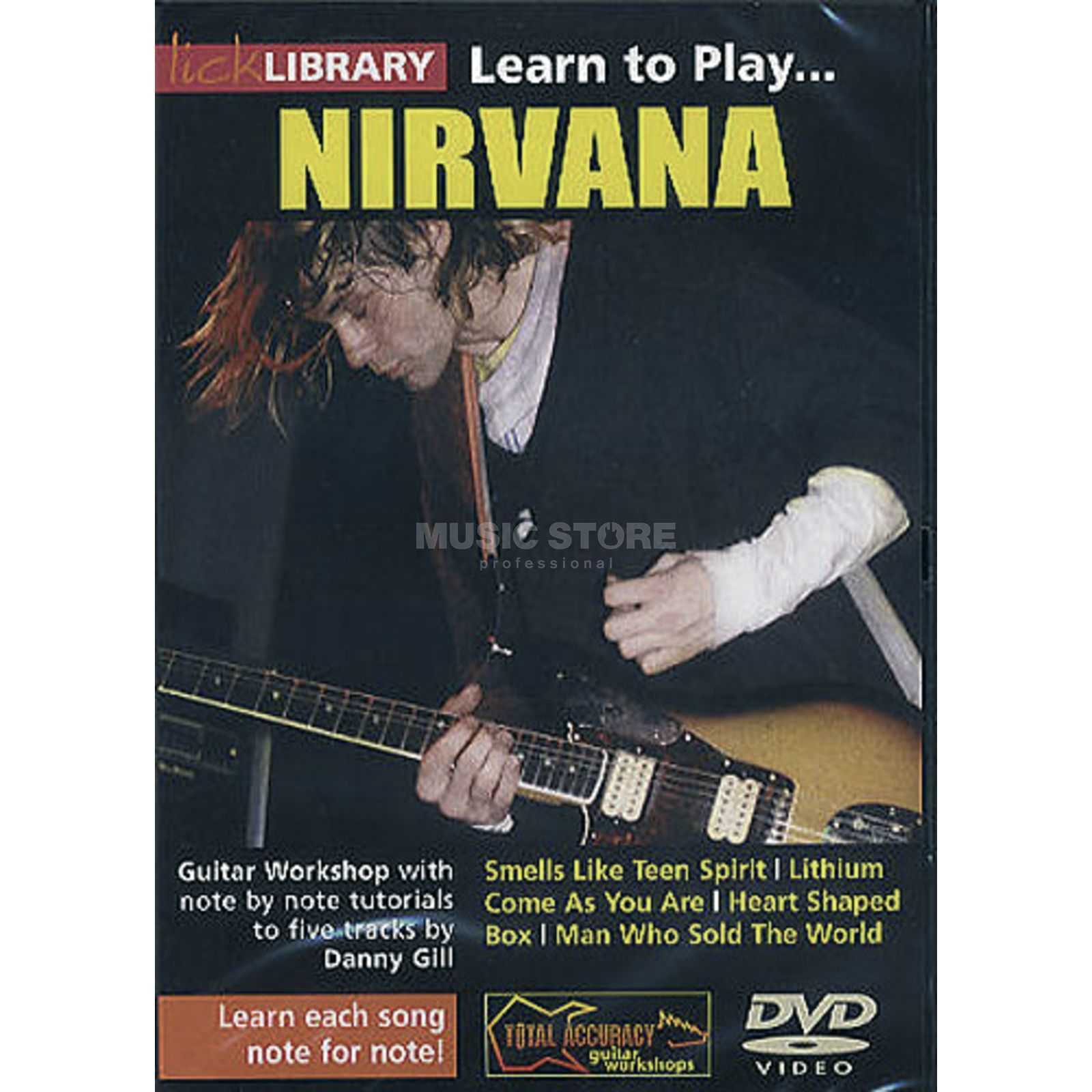 Roadrock International Lick Library: Learn To Play Nirvana DVD Produktbild