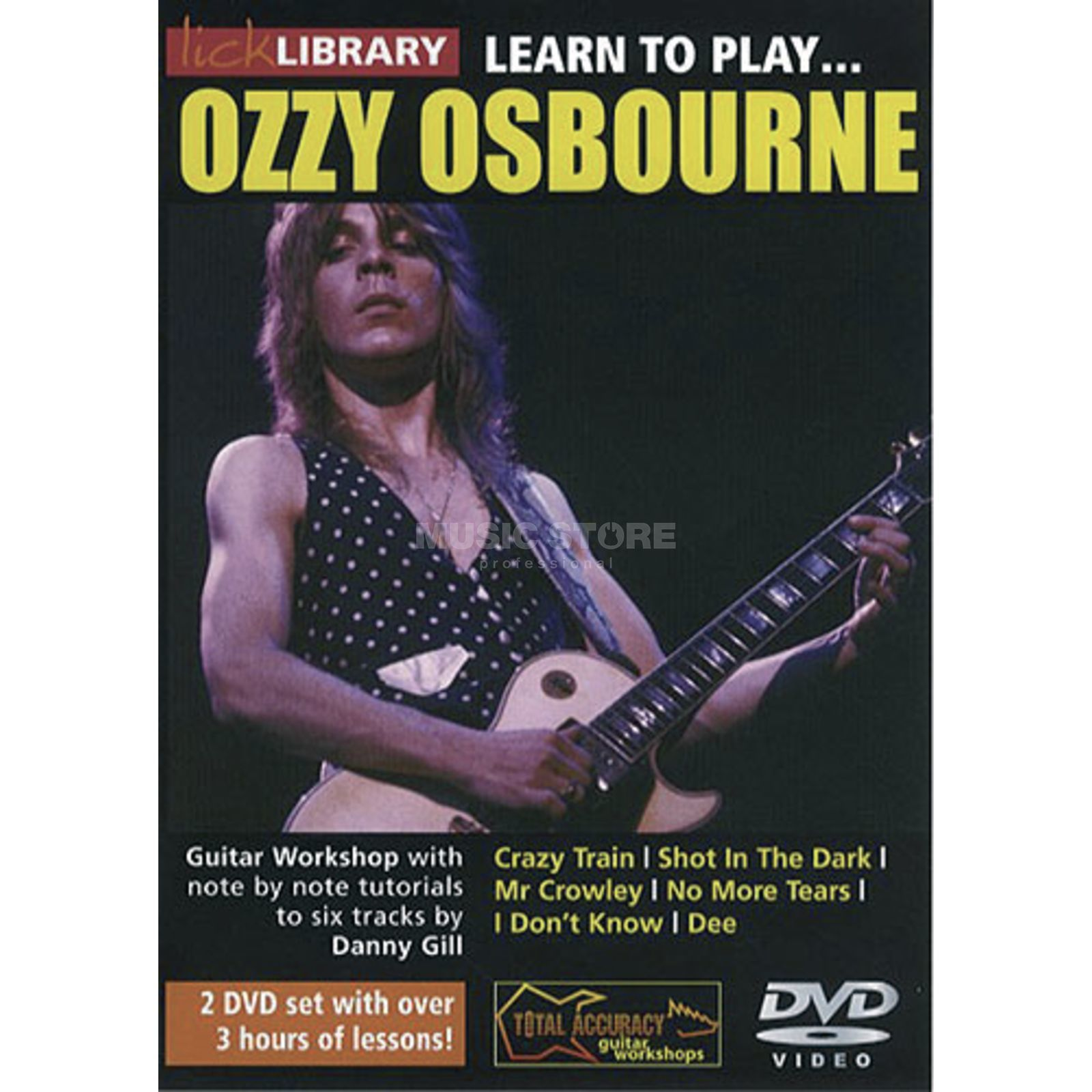 Roadrock International Lick Library: Learn To Play Ozzy Osbourne DVD Produktbillede