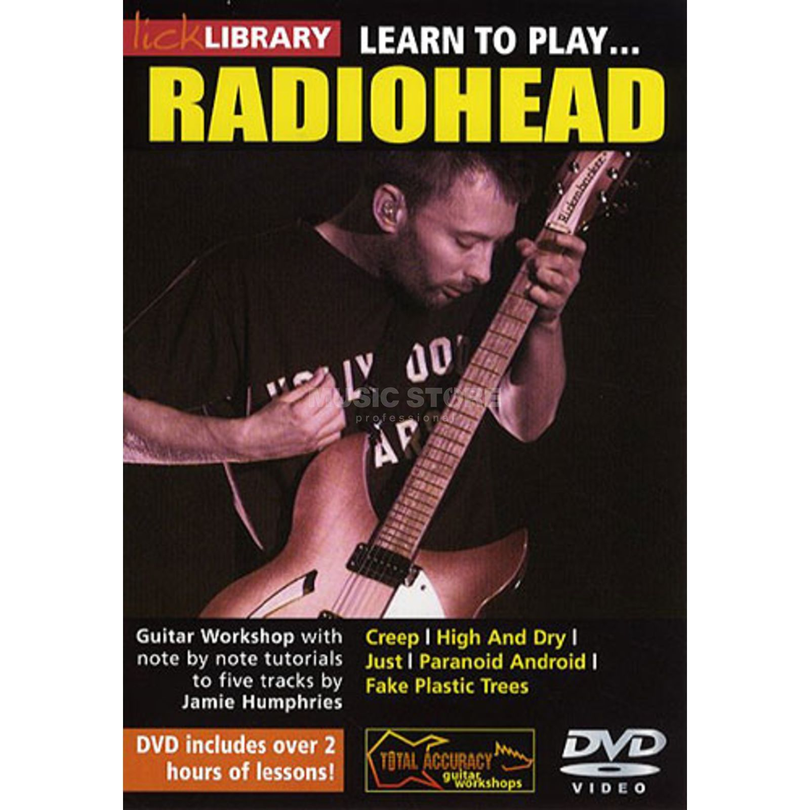 Roadrock International Lick Library: Learn To Play Radiohead DVD Produktbillede