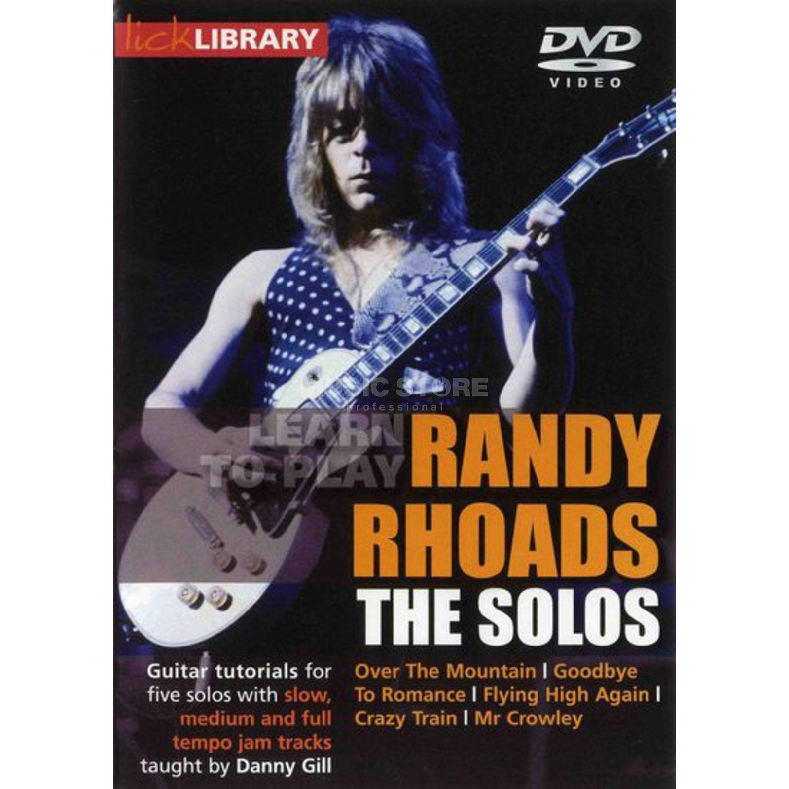 Roadrock International Lick Library: Learn To Play Randy Rhoads - The Solos DVD Produktbild