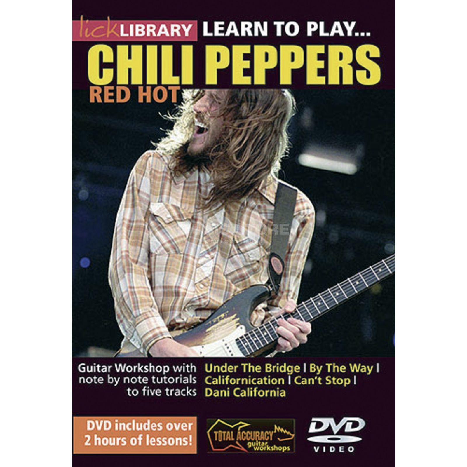Roadrock International Lick Library: Learn To Play Red Hot Chili Peppers DVD Produktbillede