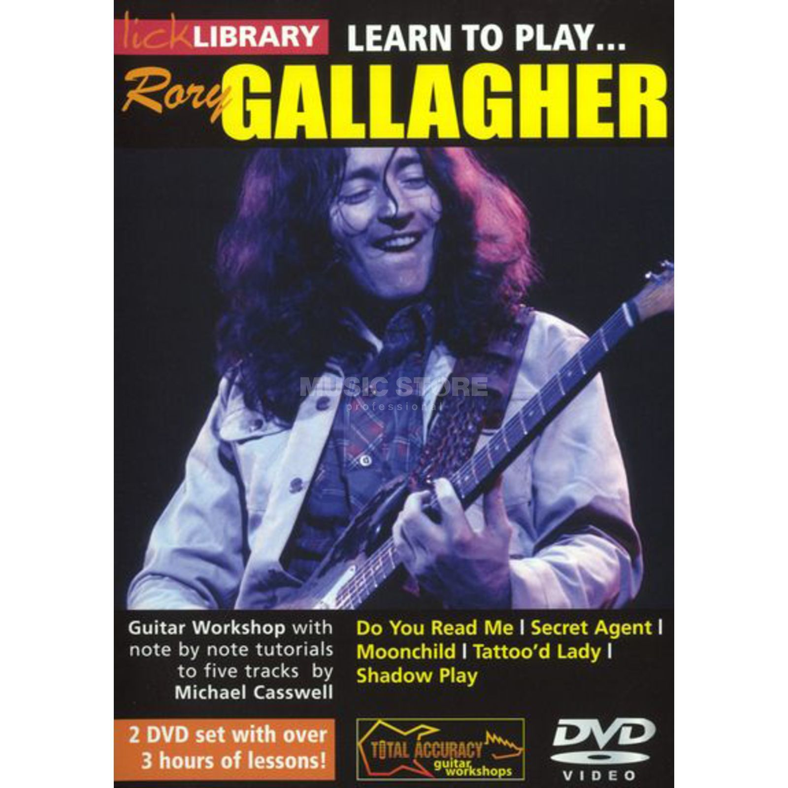 Roadrock International Lick Library: Learn To Play Rory Gallagher DVD Produktbillede