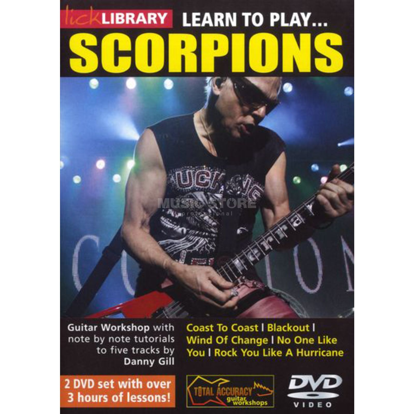 Roadrock International Lick Library: Learn To Play Scorpions DVD Produktbillede
