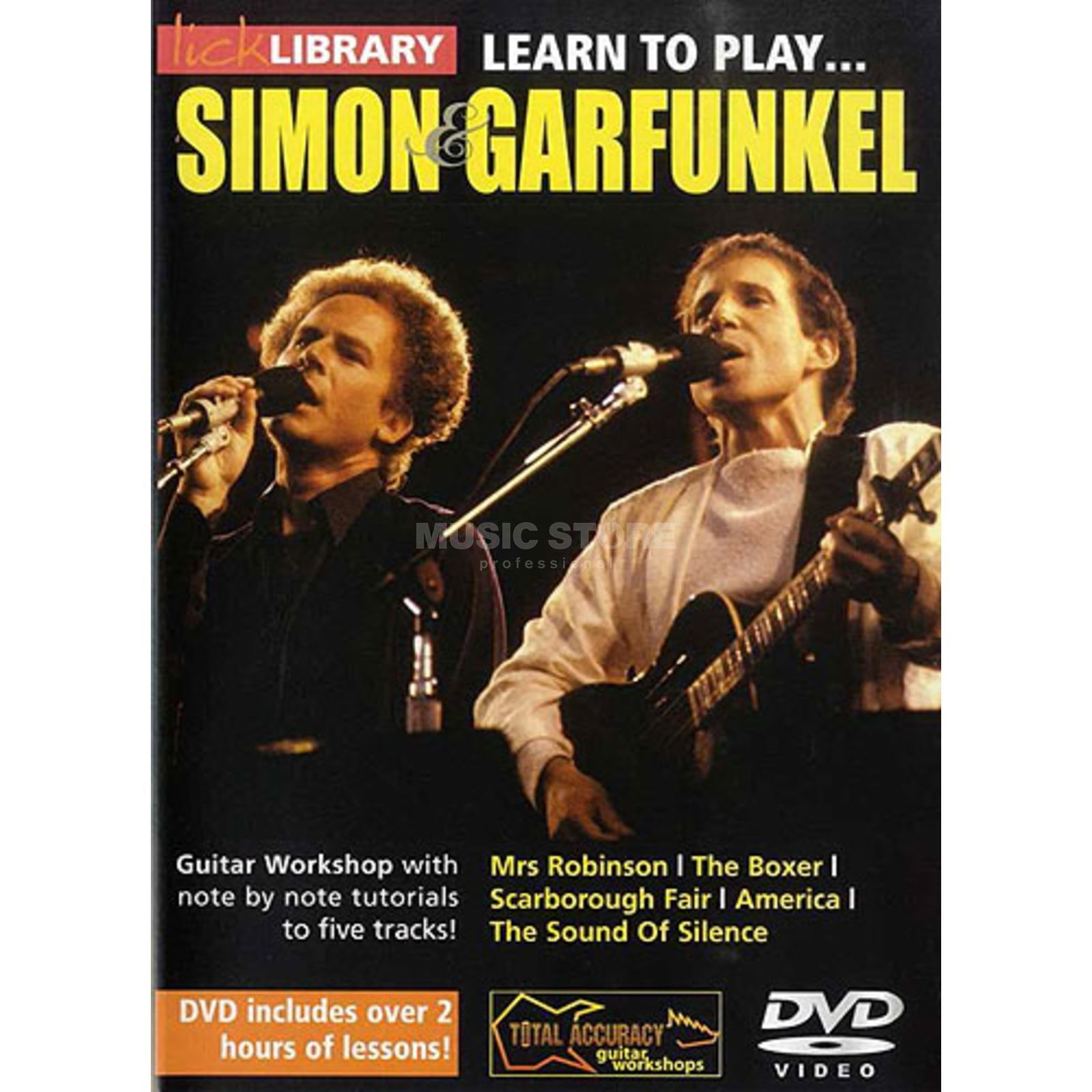 Roadrock International Lick Library: Learn To Play Simon And Garfunkel DVD Produktbillede