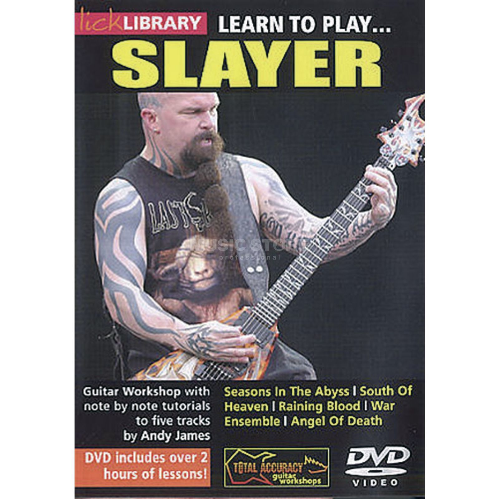 Roadrock International Lick Library: Learn To Play Slayer DVD Produktbillede