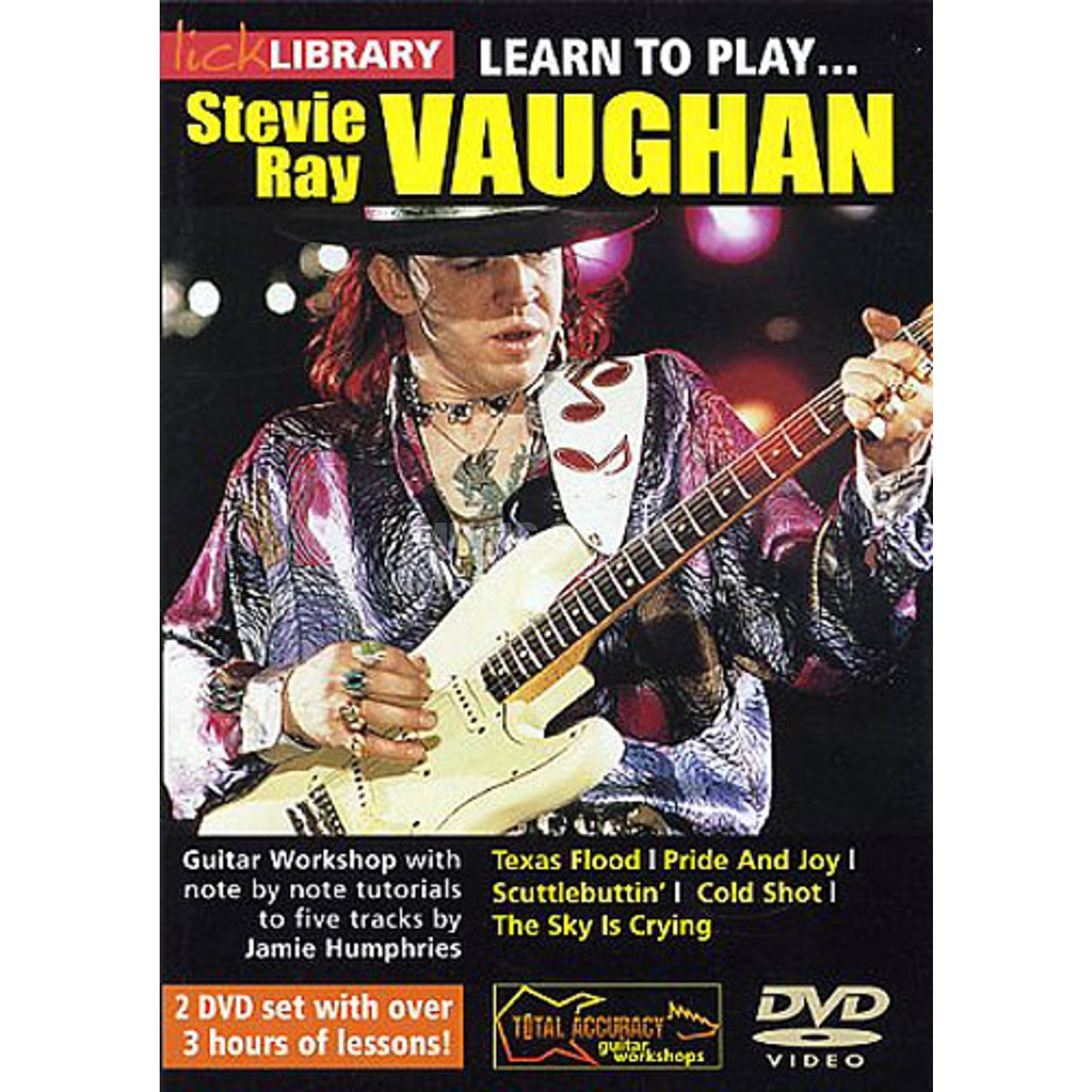 Roadrock International Lick Library: Learn To Play Stevie Ray Vaughan DVD Produktbild