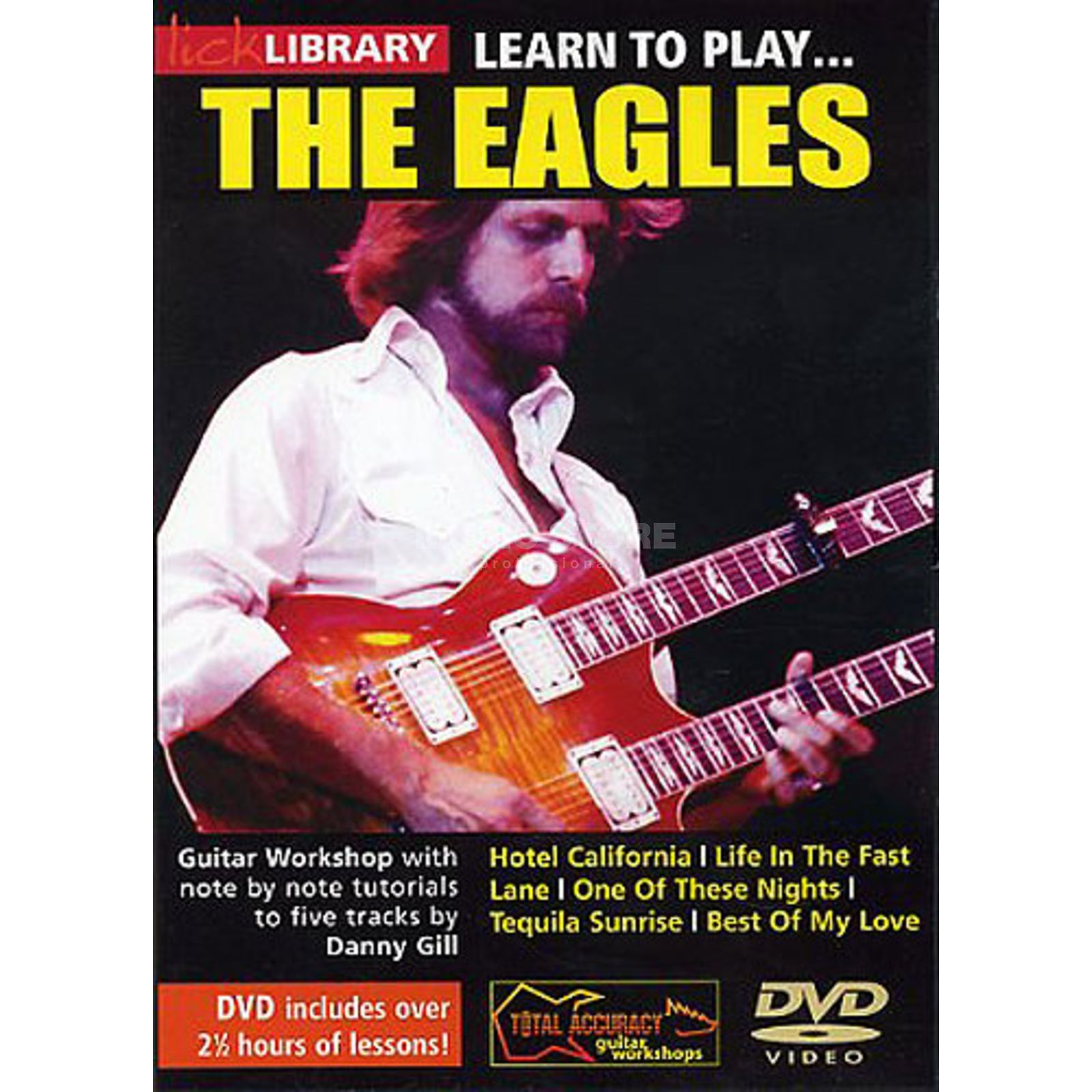 Roadrock International Lick Library: Learn To Play The Eagles DVD Produktbild