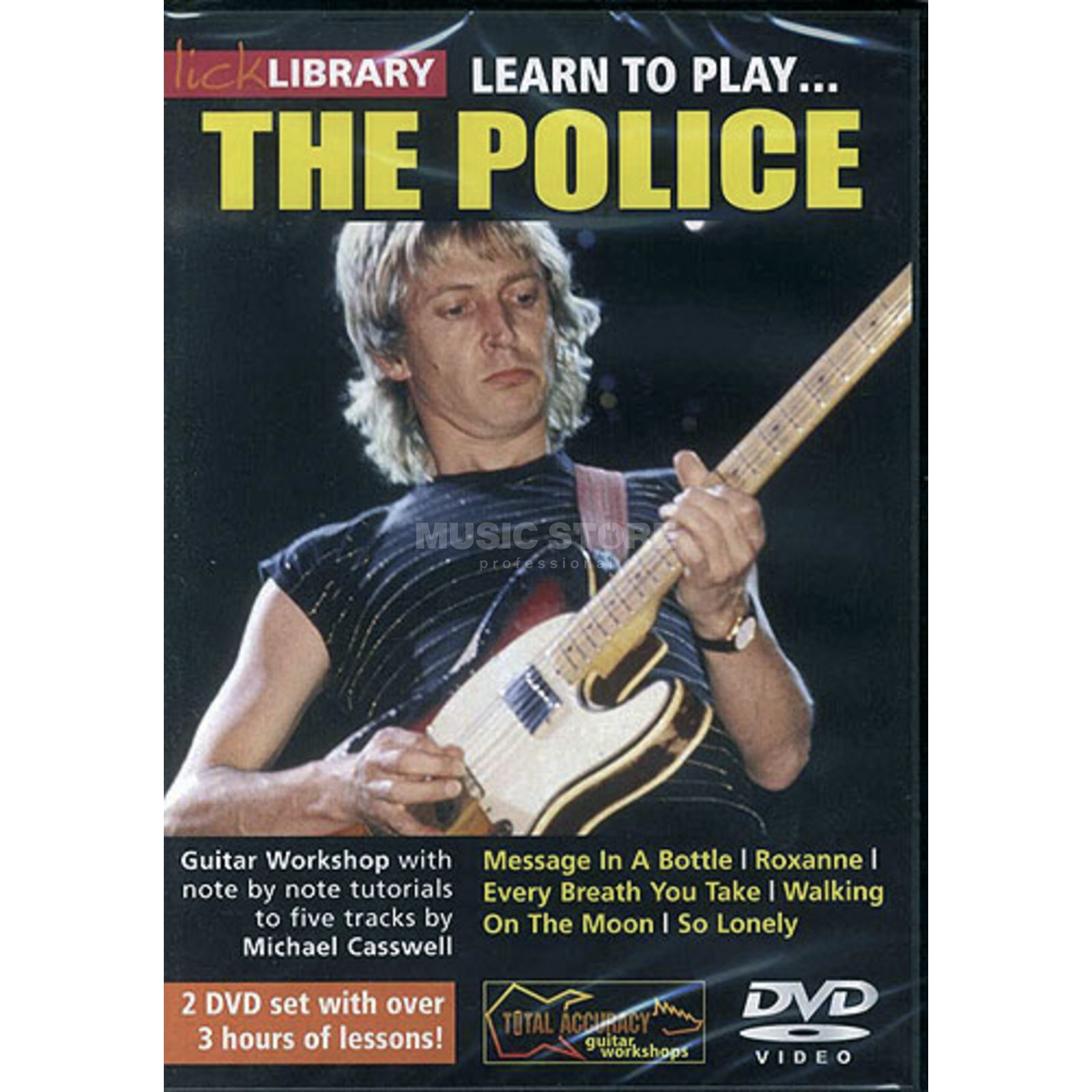 Roadrock International Lick Library: Learn To Play The Police DVD Produktbillede