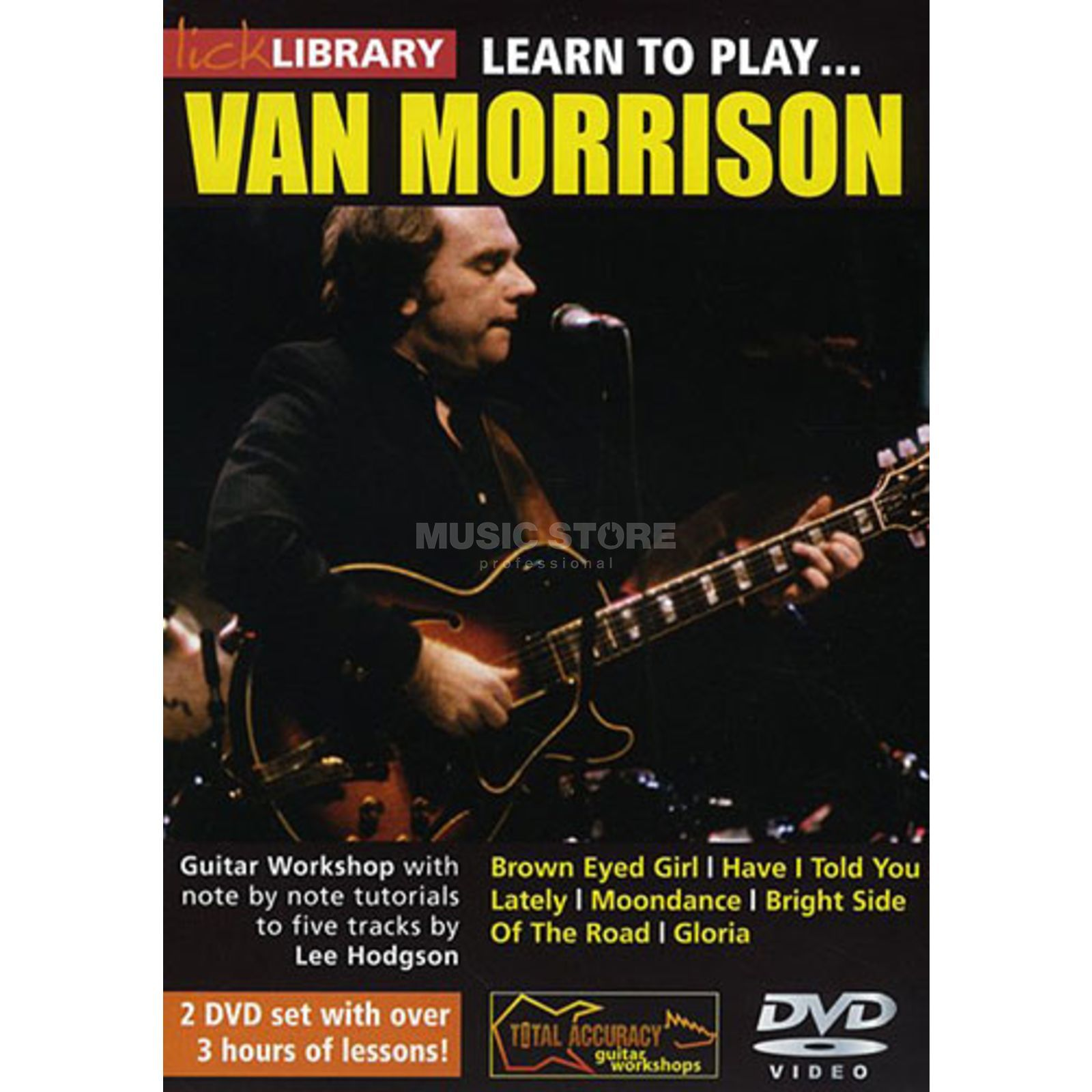 Roadrock International Lick Library: Learn To Play Van Morrison DVD Produktbillede