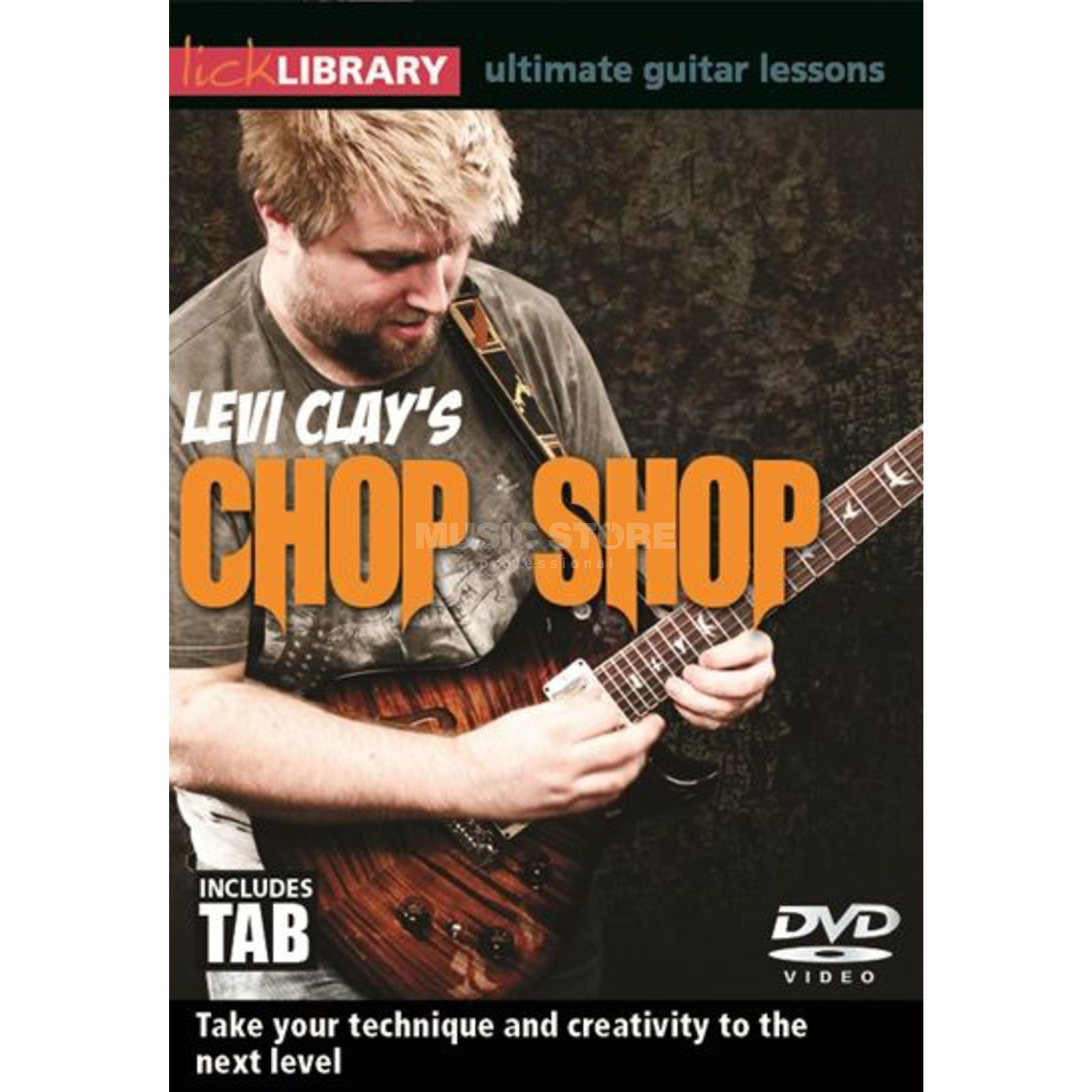 Roadrock International Lick Library: Levi Clay's Chop Shop DVD Produktbillede