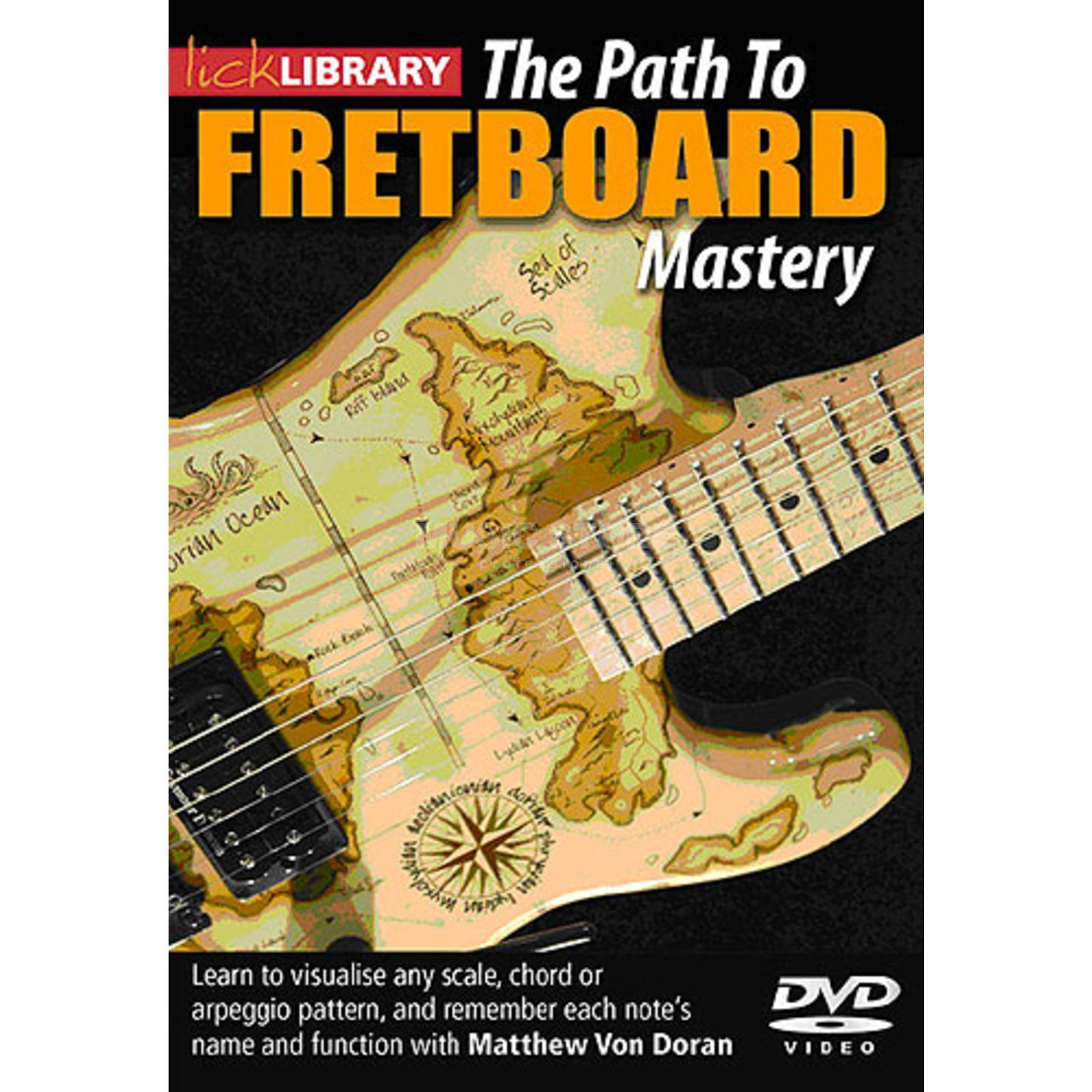 Roadrock International Lick Library: Path To Fretboard Mastery DVD Produktbild