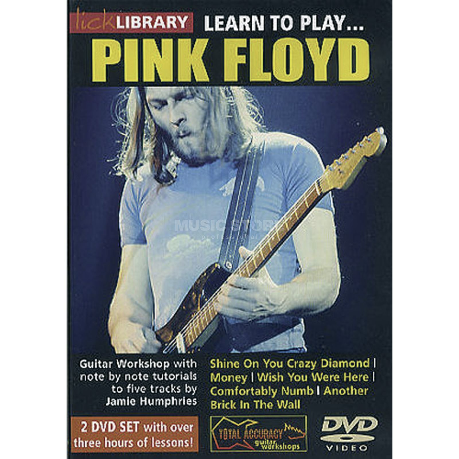 Roadrock International Lick library - Pink Floyd Learn to play (Guitar), DVD Produktbillede