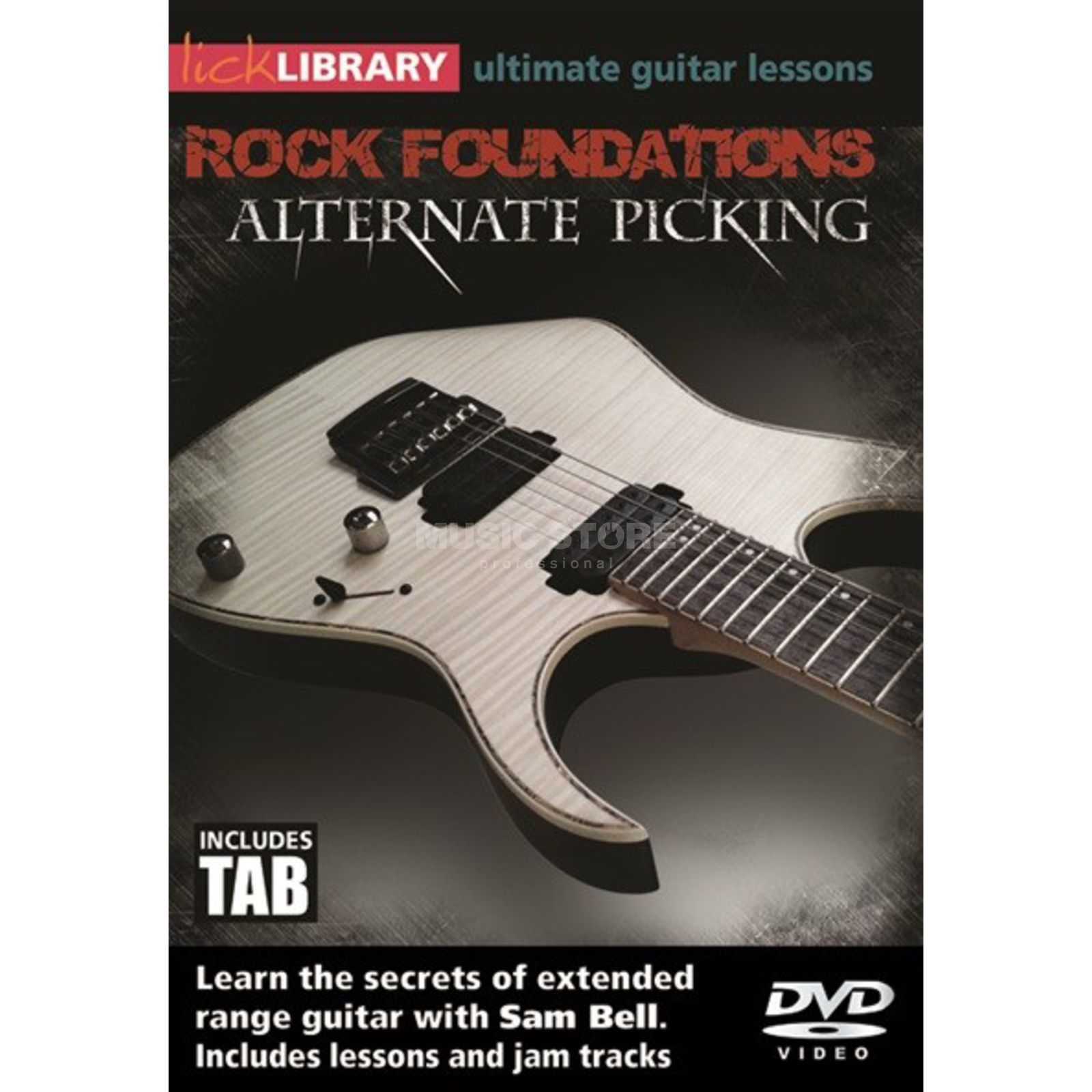 Roadrock International Lick Library: Rock Foundations Alternate Picking DVD Produktbillede