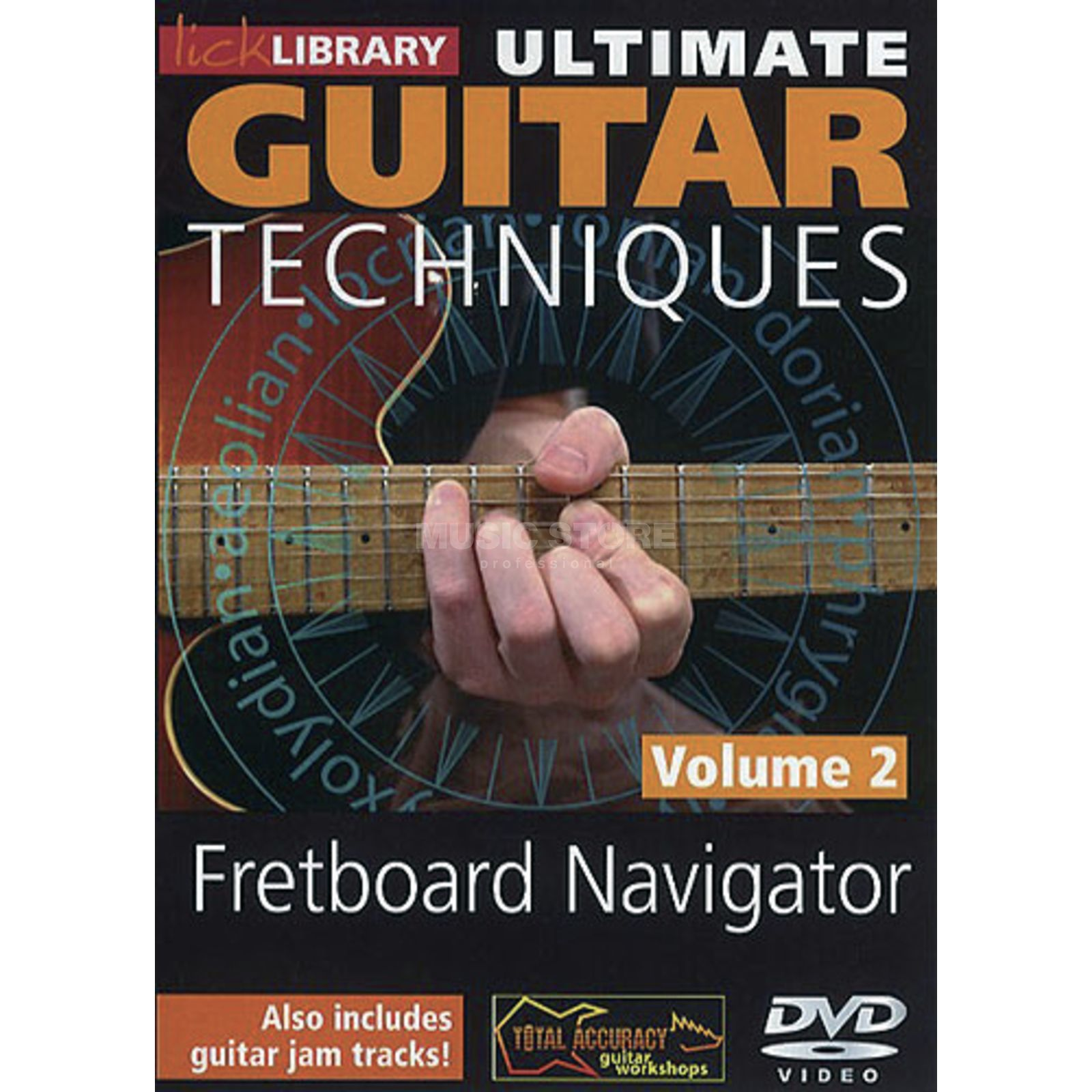 Roadrock International Lick Library: Ultimate Guitar Techniques - Fretboard Navigator 2 DVD Produktbild