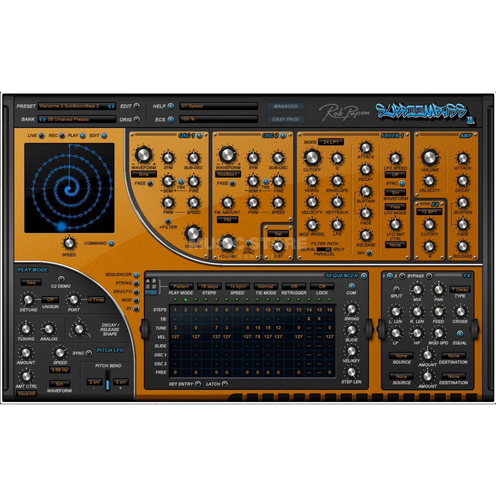 Rob Papen SubBoomBass 2 Product Image