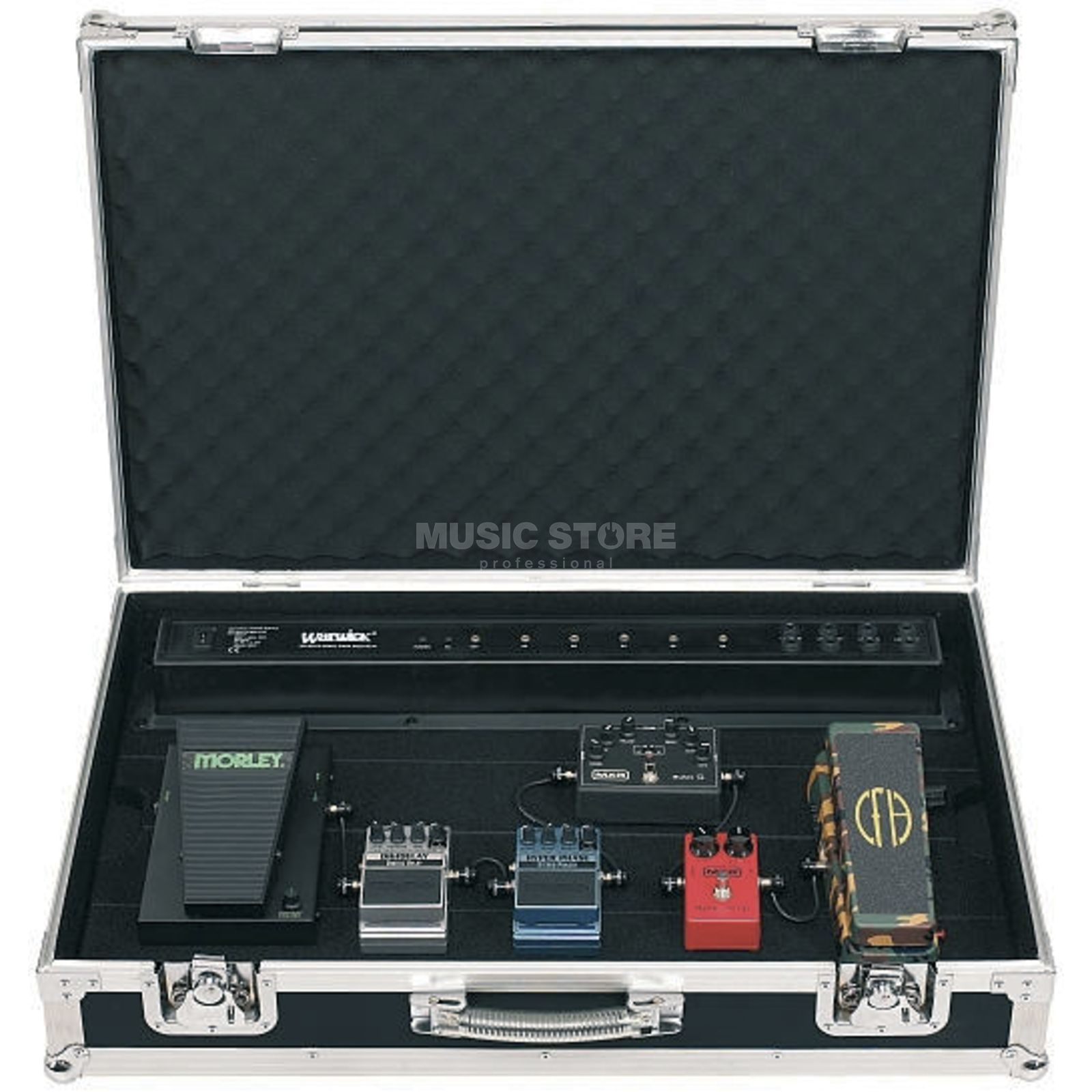 Rockcase Effect Pedal Board Case incl. Power Supply Produktbillede