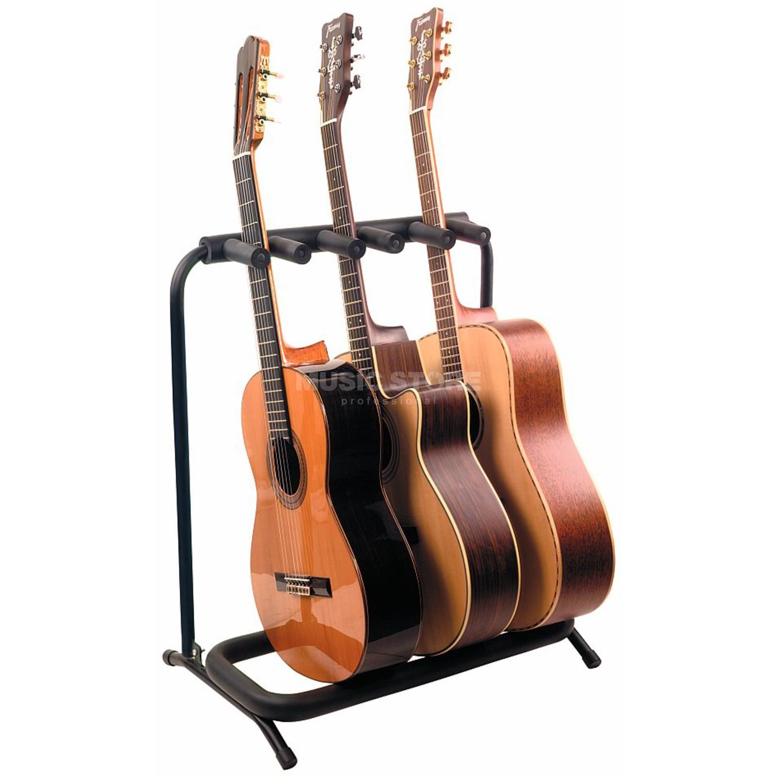 rockstand 3er multiple acoustic guitar rack stand rs 20870 b 2