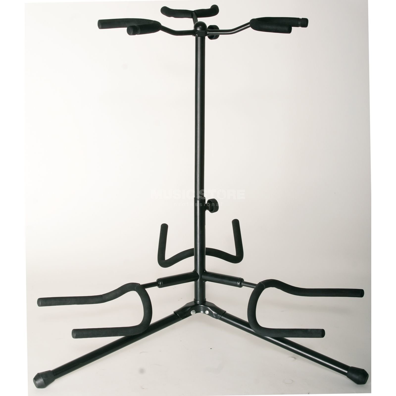 Rockstand Std. Guitar Stand for 3 Guit. HeightAdjustable, Folding Feet Produktbillede