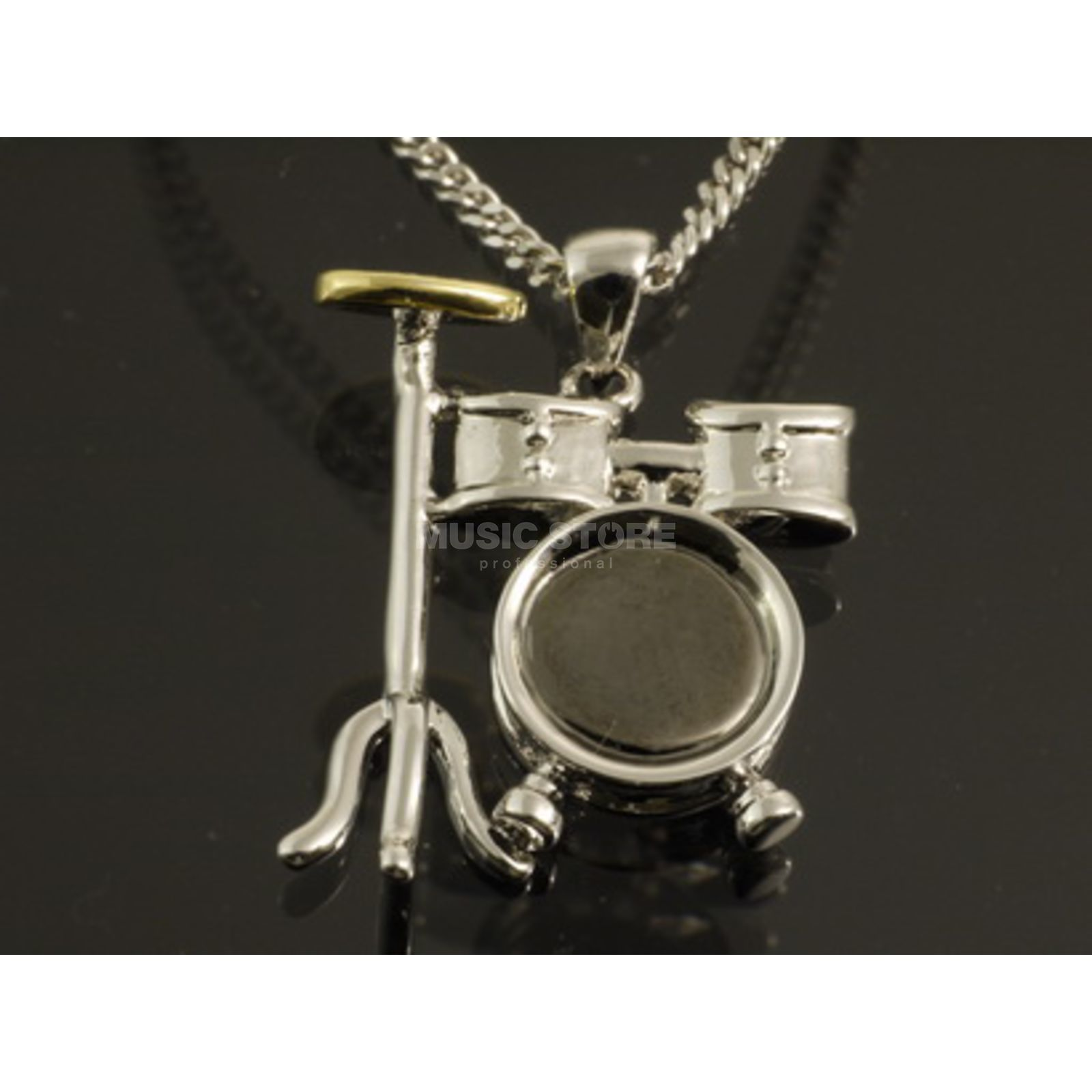 Rockys Pendant Drumset silver plated Produktbillede