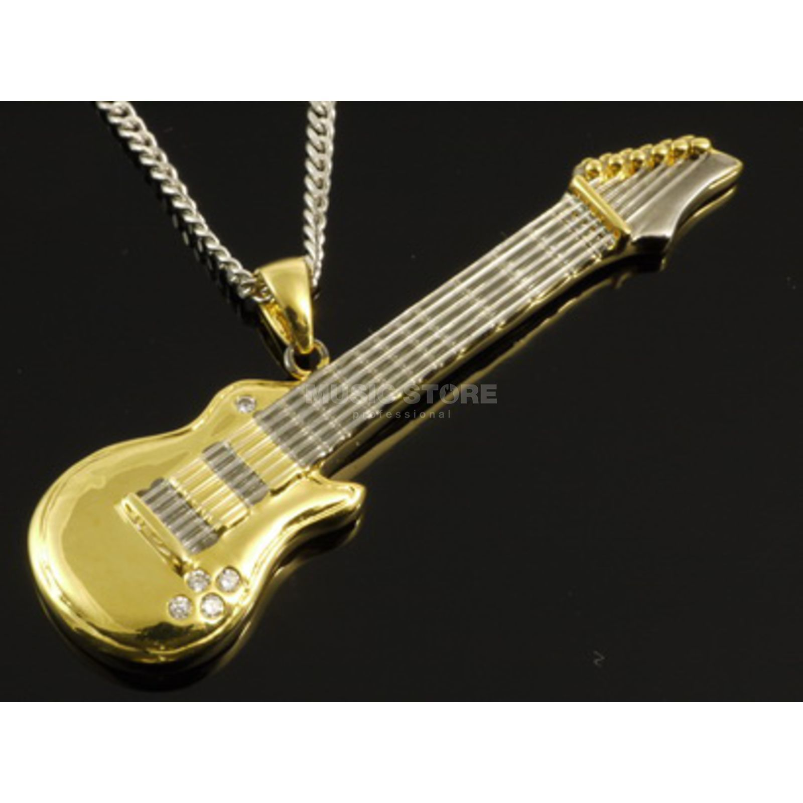 Rockys Pendant E-Guitar gold plated Product Image