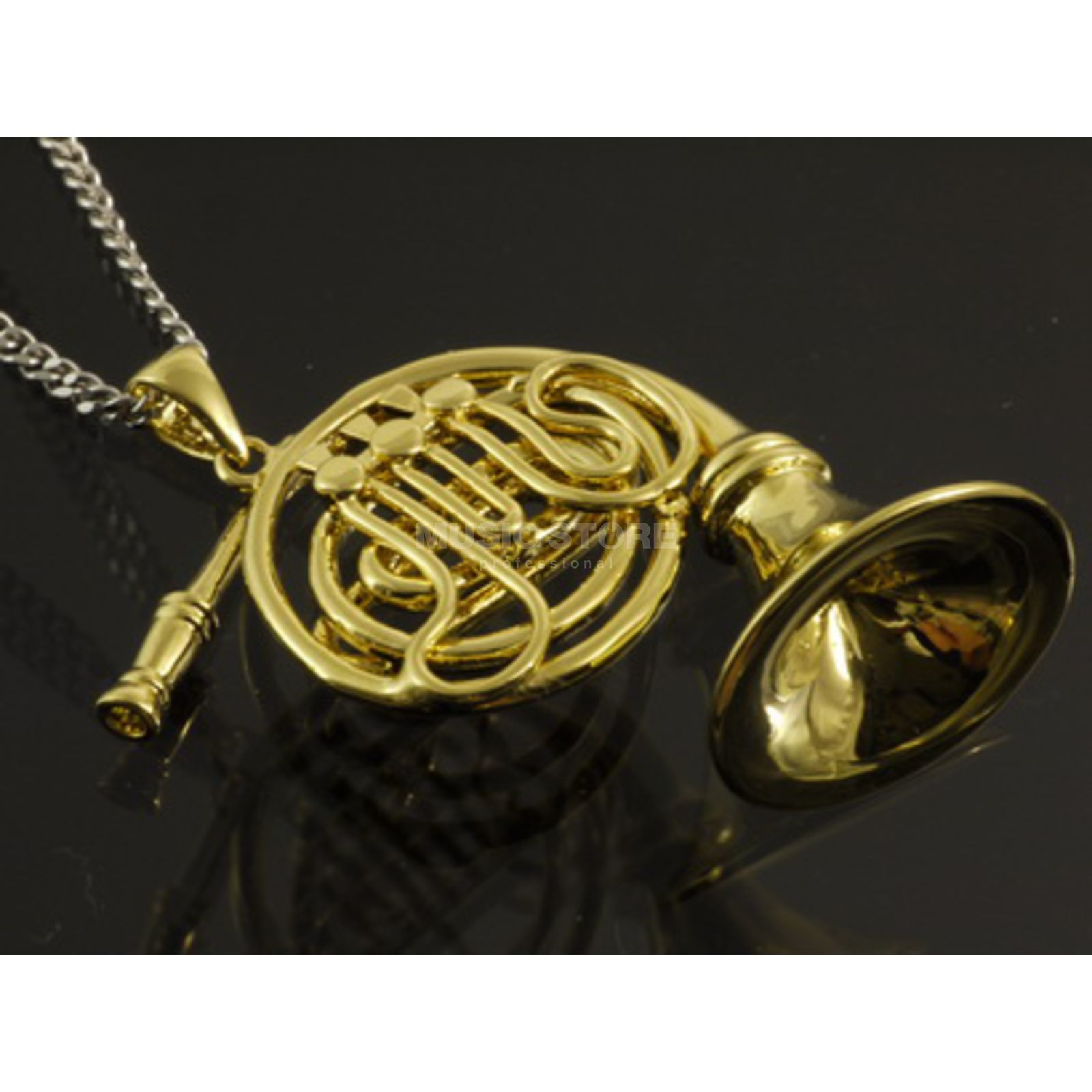 Rockys Pendant French Horn gold plated Produktbillede