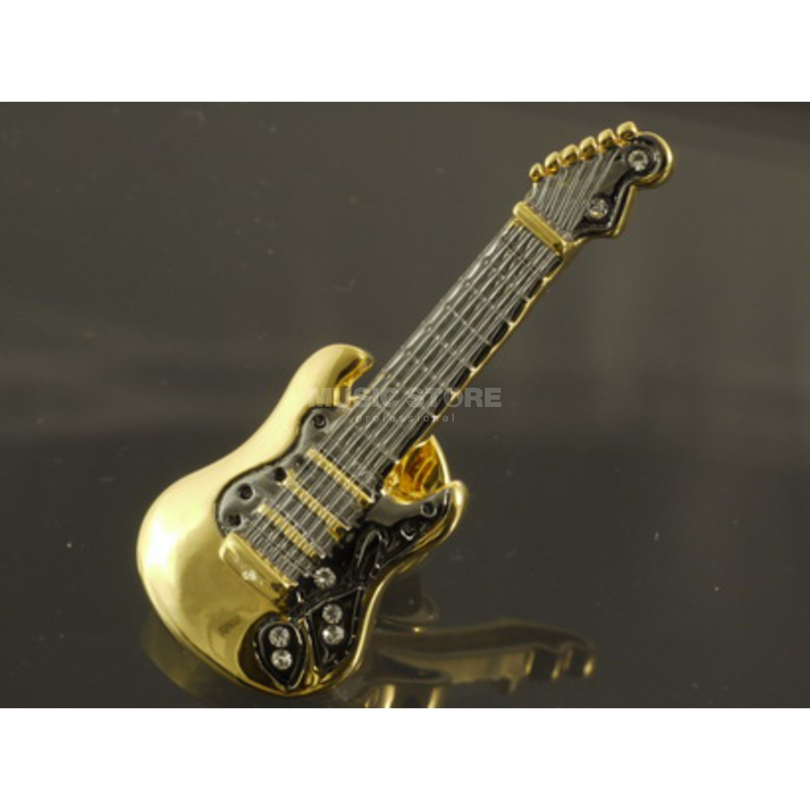 Rockys Pin E-Guitar gold plated Produktbillede