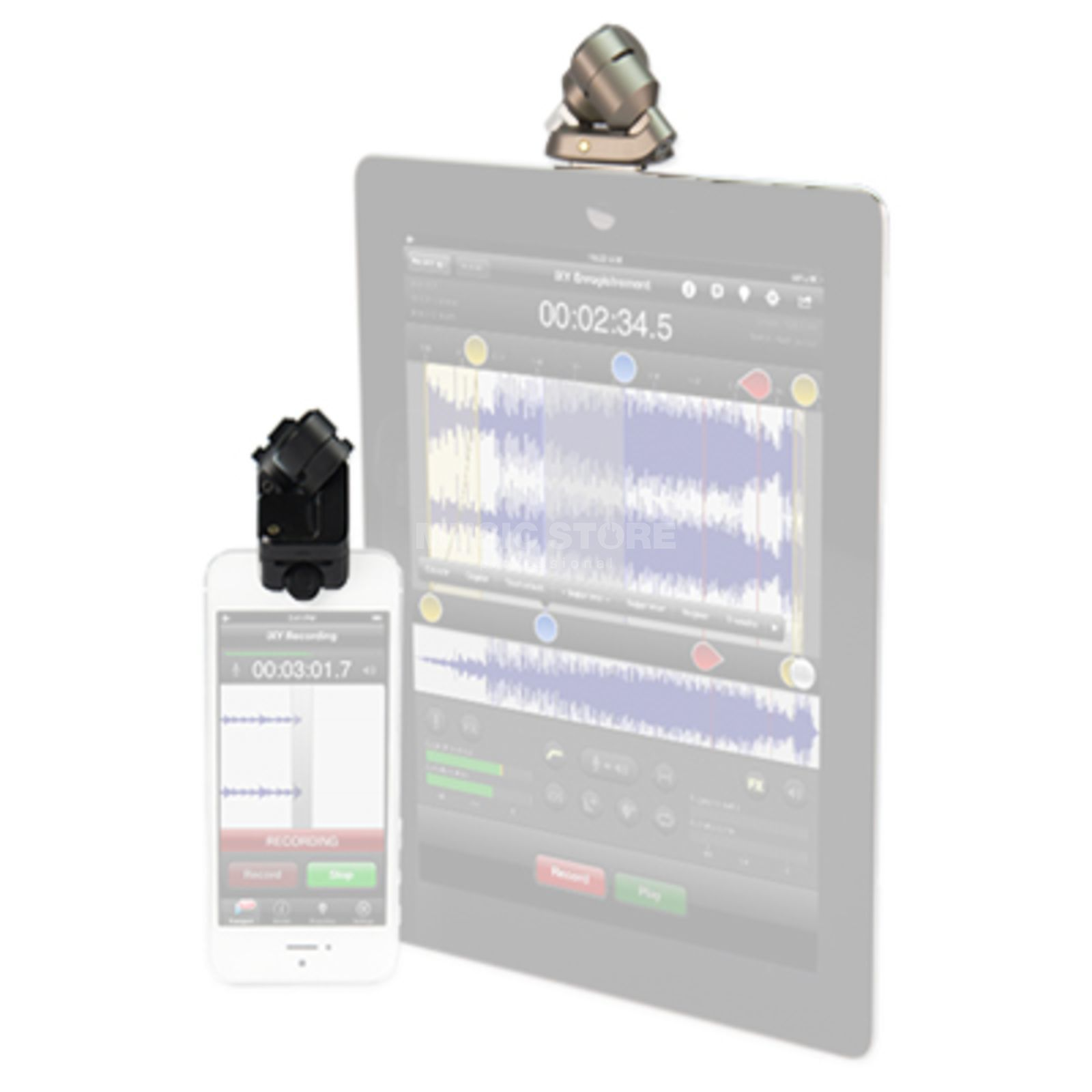 Rode iXY Lightning Stereomikrofon for iPhone und iPad Product Image