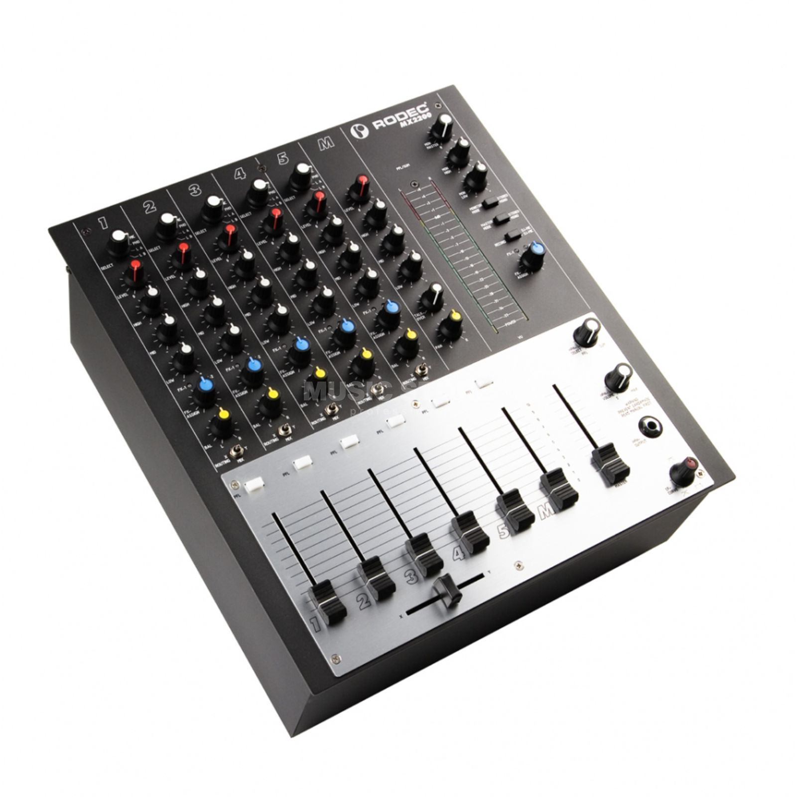 Rodec MX2200 6-Channel DJ Mixer  Product Image