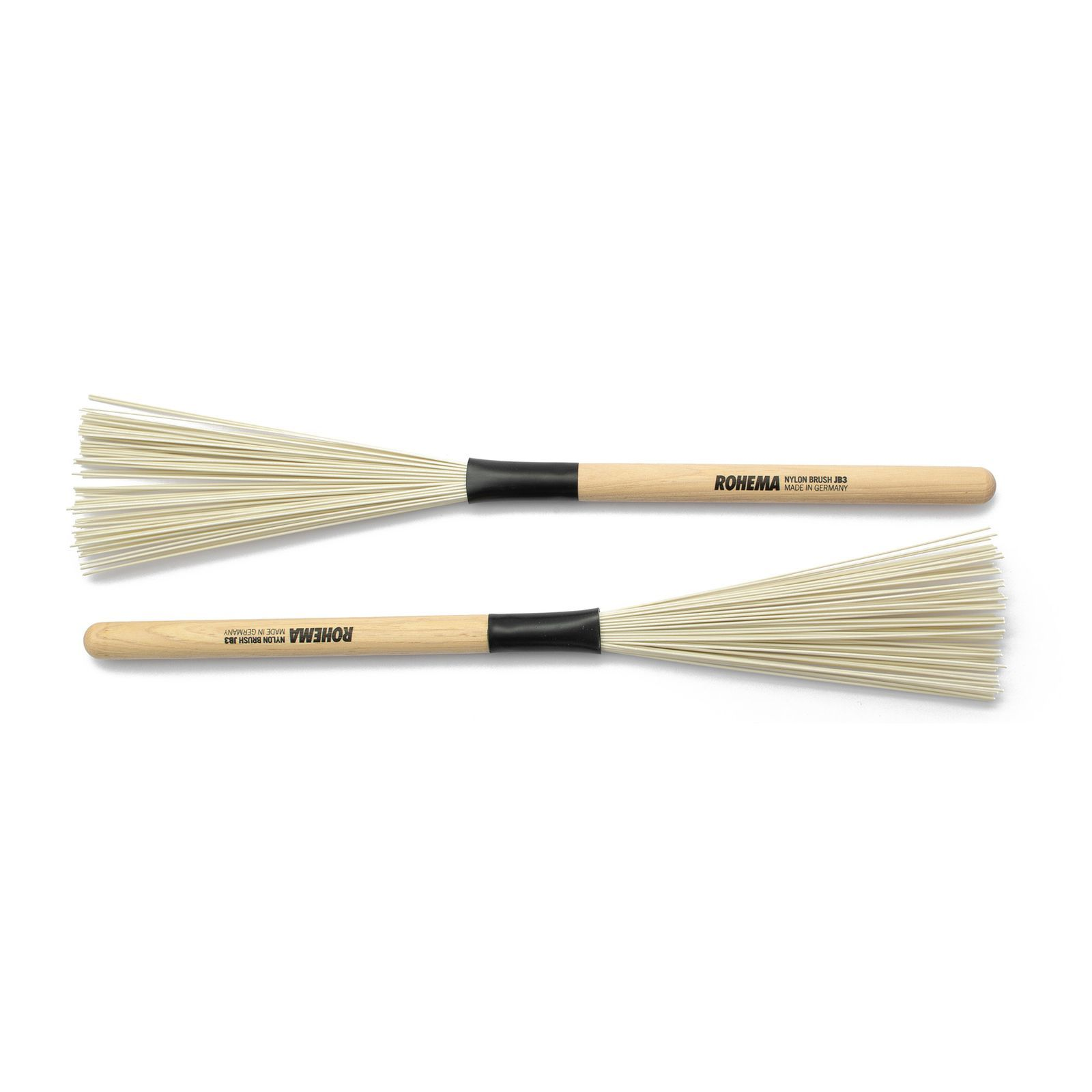 Rohema JB 3 Brush - Nylon Bristles - Wood Handle Produktbillede